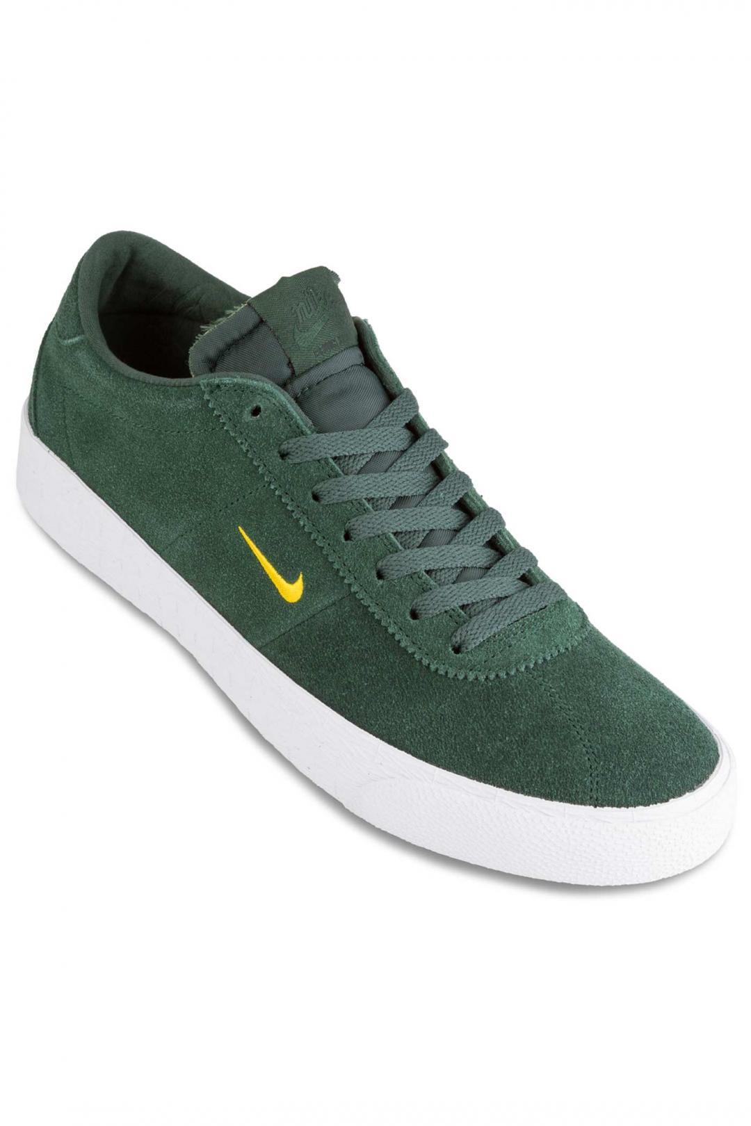 Uomo Nike SB Zoom Bruin Ultra midnight green habanero red | Scarpe da skate