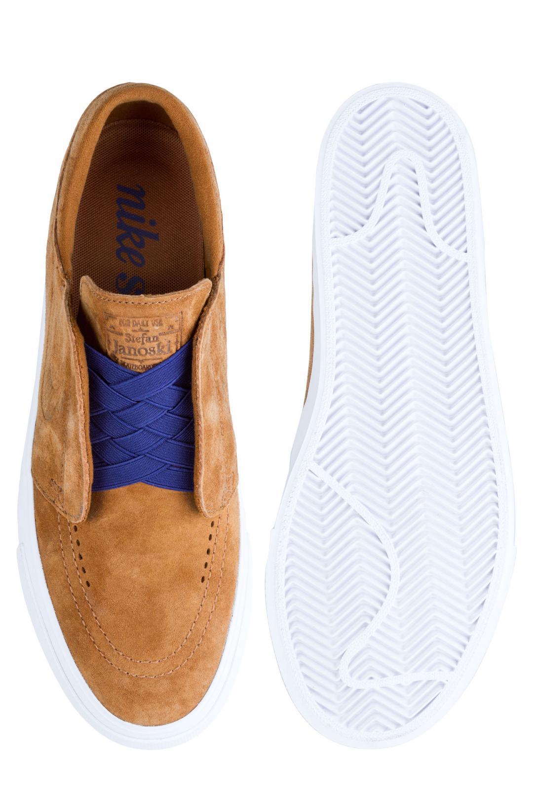 Uomo Nike SB Zoom Janoski HT Slip light british tan | Sneaker