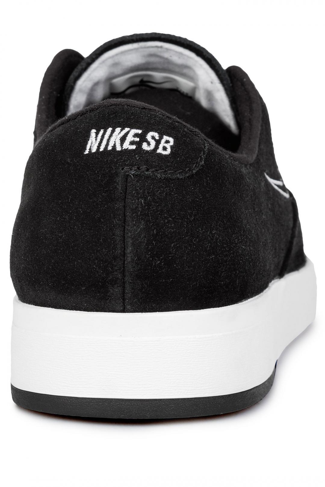 Uomo Nike SB Zoom P-Rod X black black white   Sneakers low top