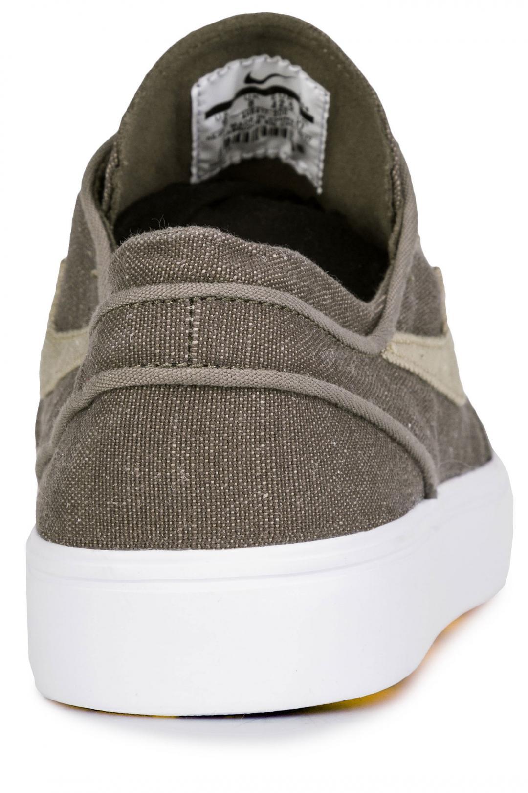Uomo Nike SB Zoom Stefan Janoski Canvas Deconstructed ridgerock khaki   Sneakers low top