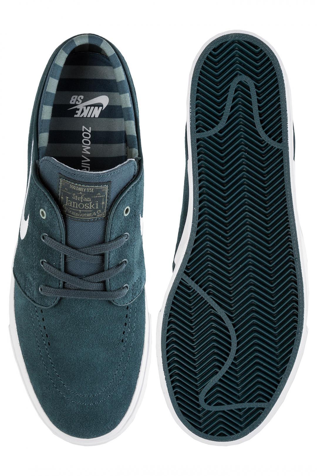 Uomo Nike SB Zoom Stefan Janoski deep jungle white clay green whi | Scarpe da skate