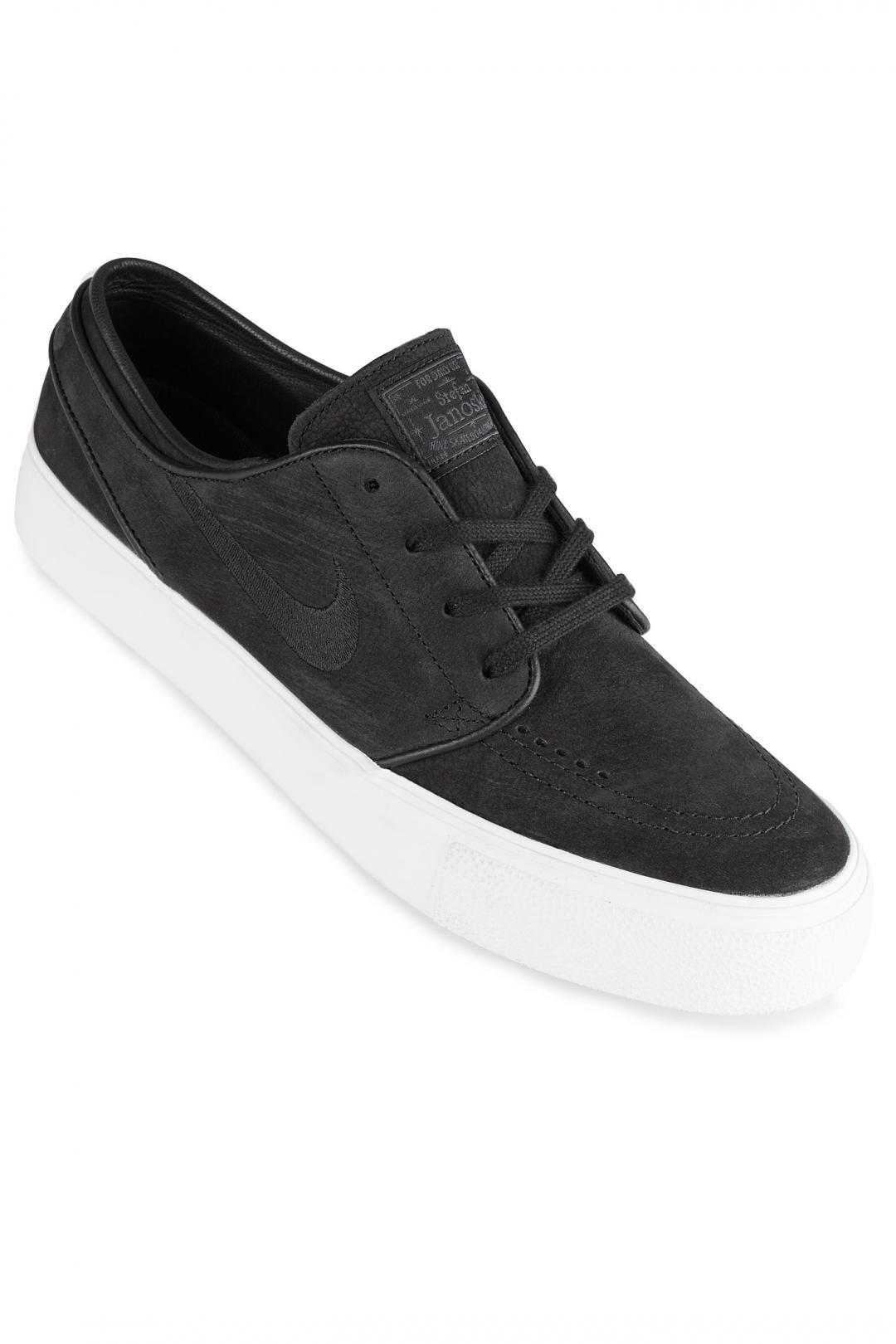 Uomo Nike SB Zoom Stefan Janoski HT black wolf grey   Sneakers low top