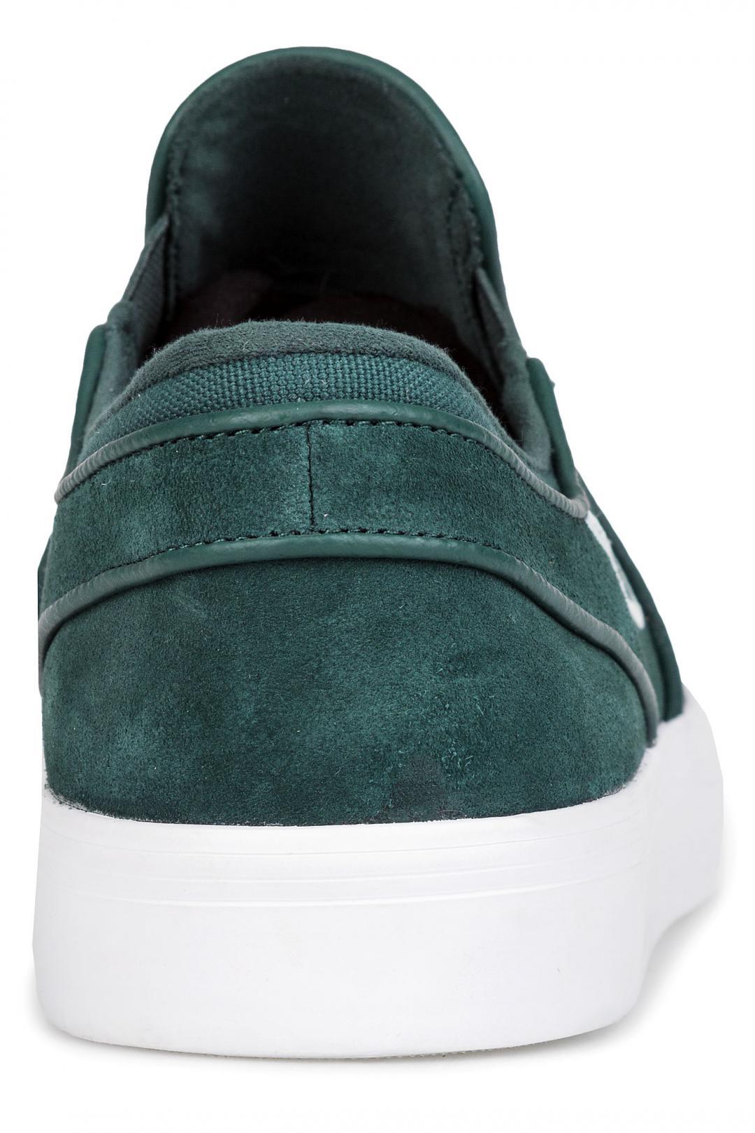 Uomo Nike SB Zoom Stefan Janoski Slip deep jungle barely grey   Sneakers slip on