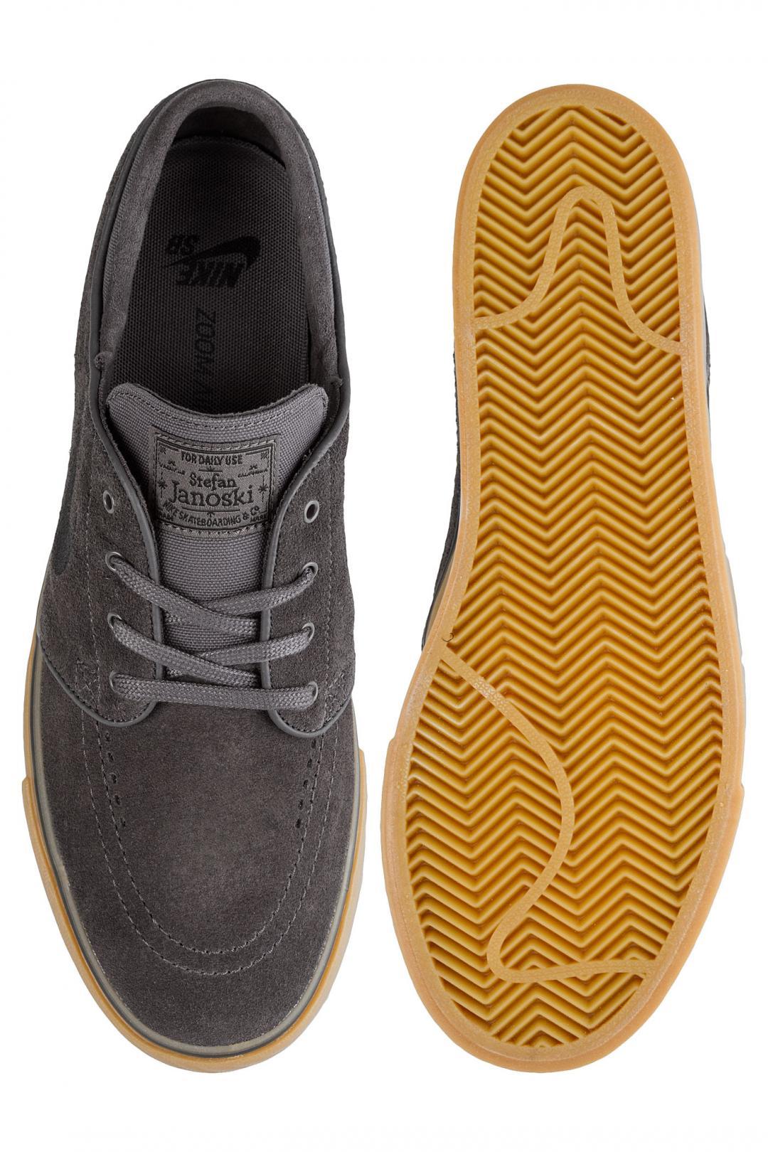Uomo Nike SB Zoom Stefan Janoski thunder grey gum | Scarpe da skate