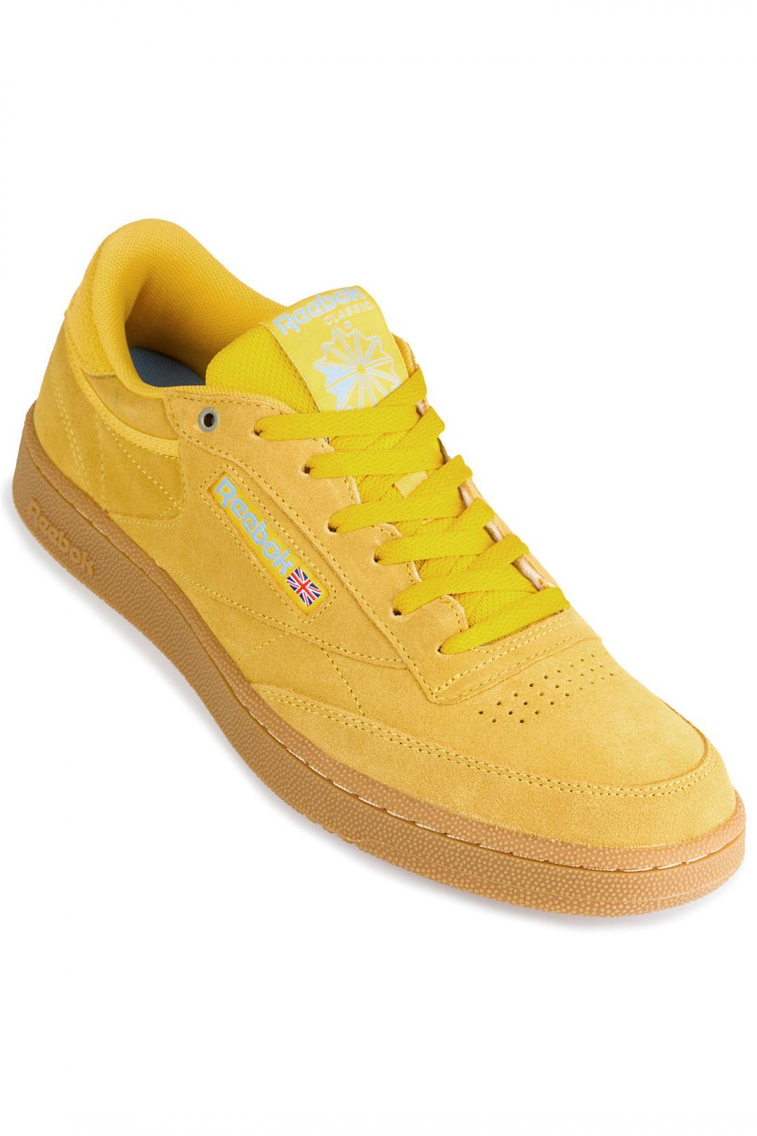 Uomo Reebok Club C 85 MU banana blue gum | Sneaker