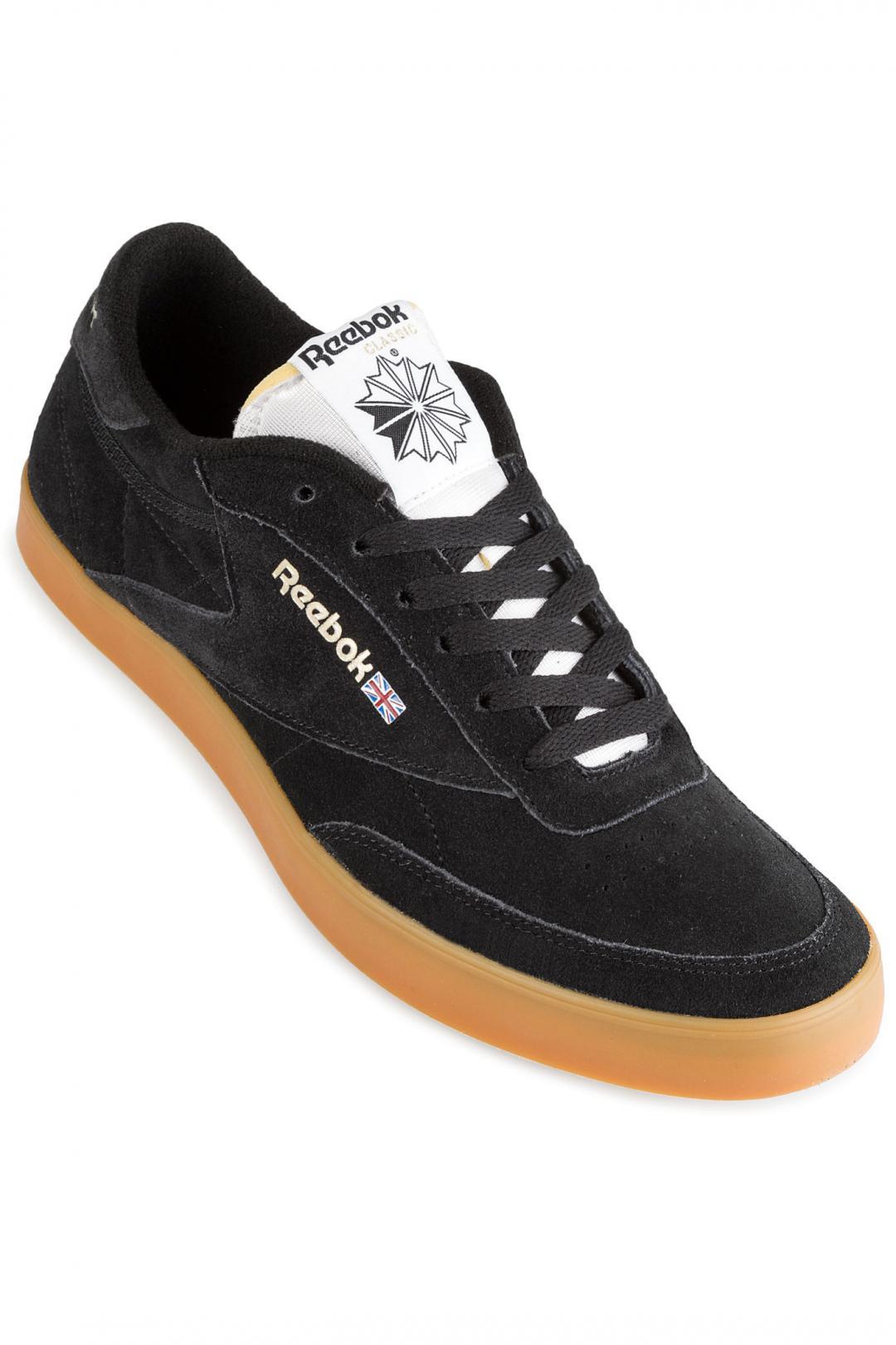 Uomo Reebok Club C FVS Gum Update black white gold gum | Sneaker