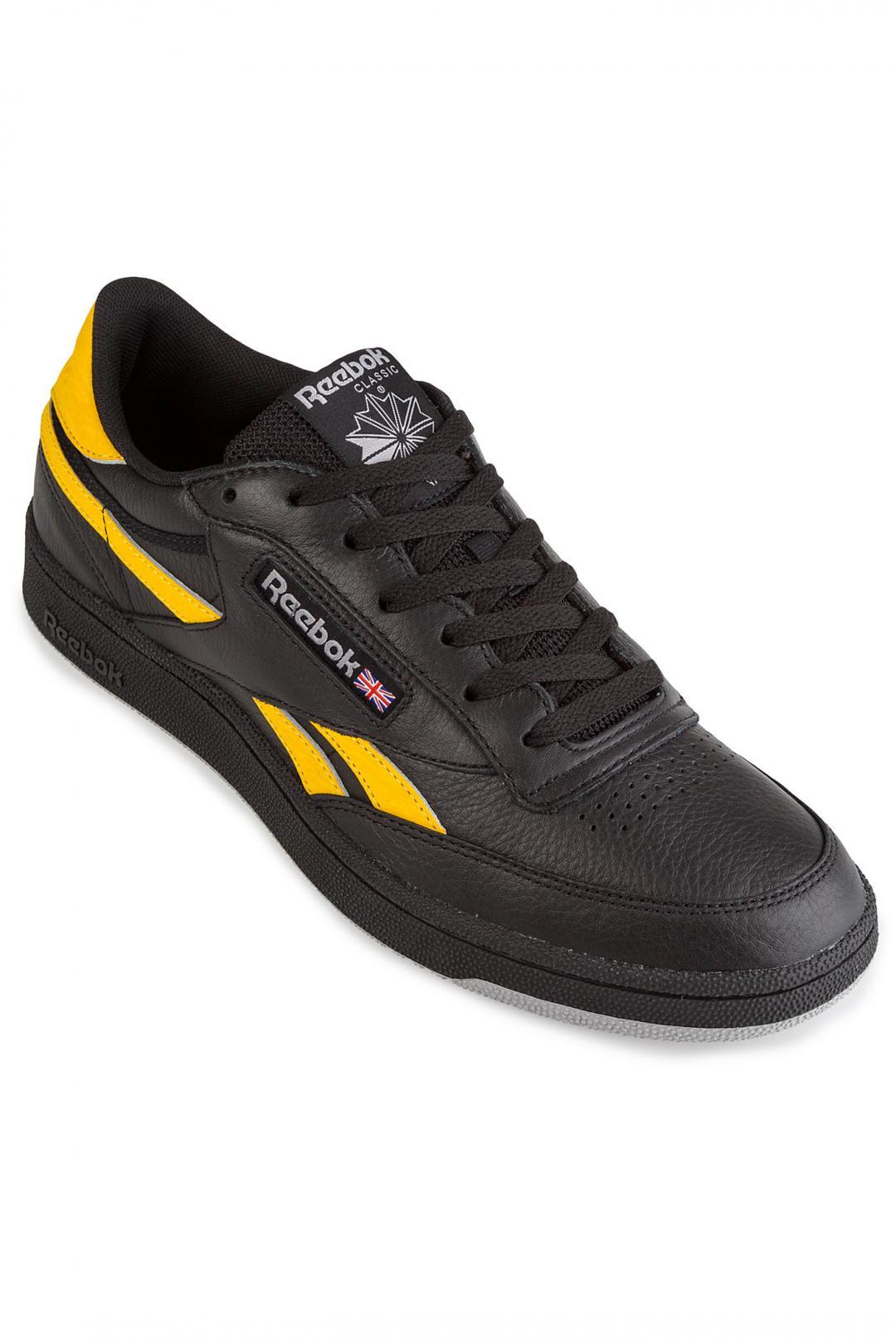 Uomo Reebok Revenge Plus MU black gold grey white | Sneaker