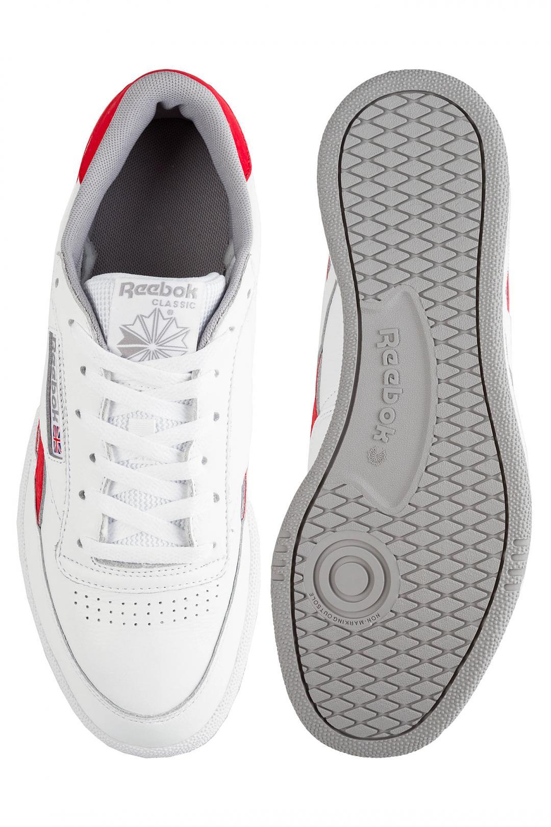 Uomo Reebok Revenge Plus MU white primal red | Sneaker