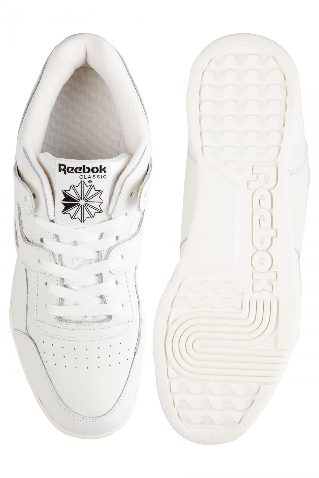 Uomo Reebok Workout Plus MU chalk black | Sneakers low top
