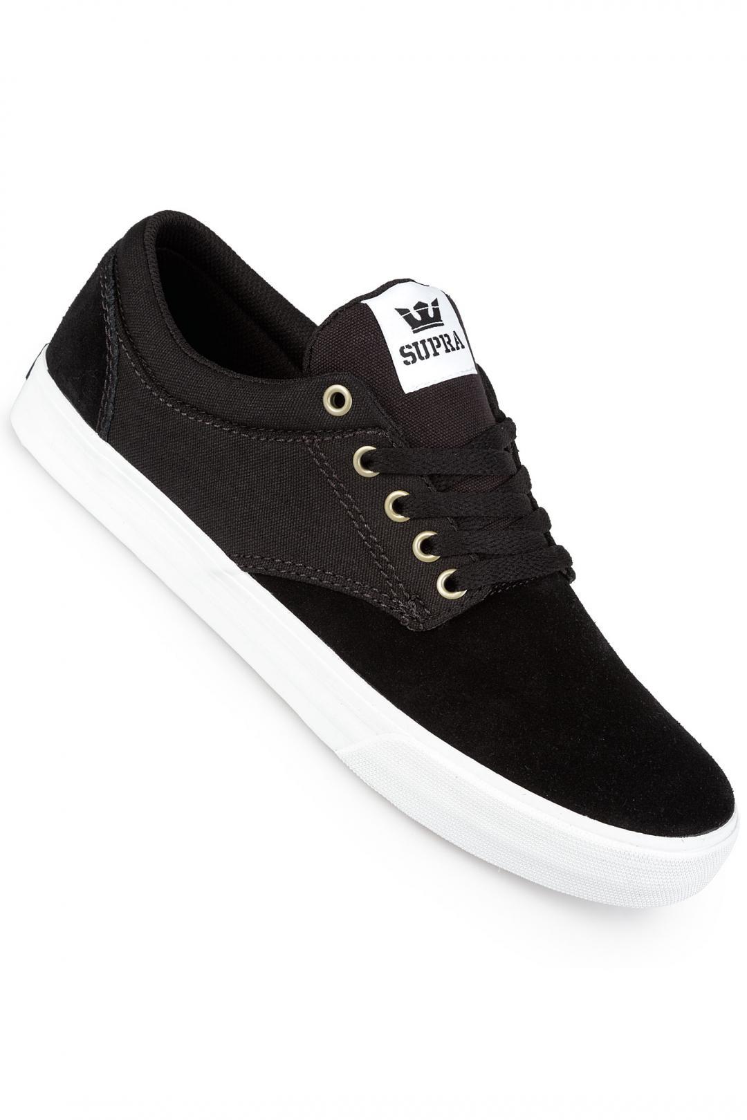 Uomo Supra Chino black white white | Sneakers low top