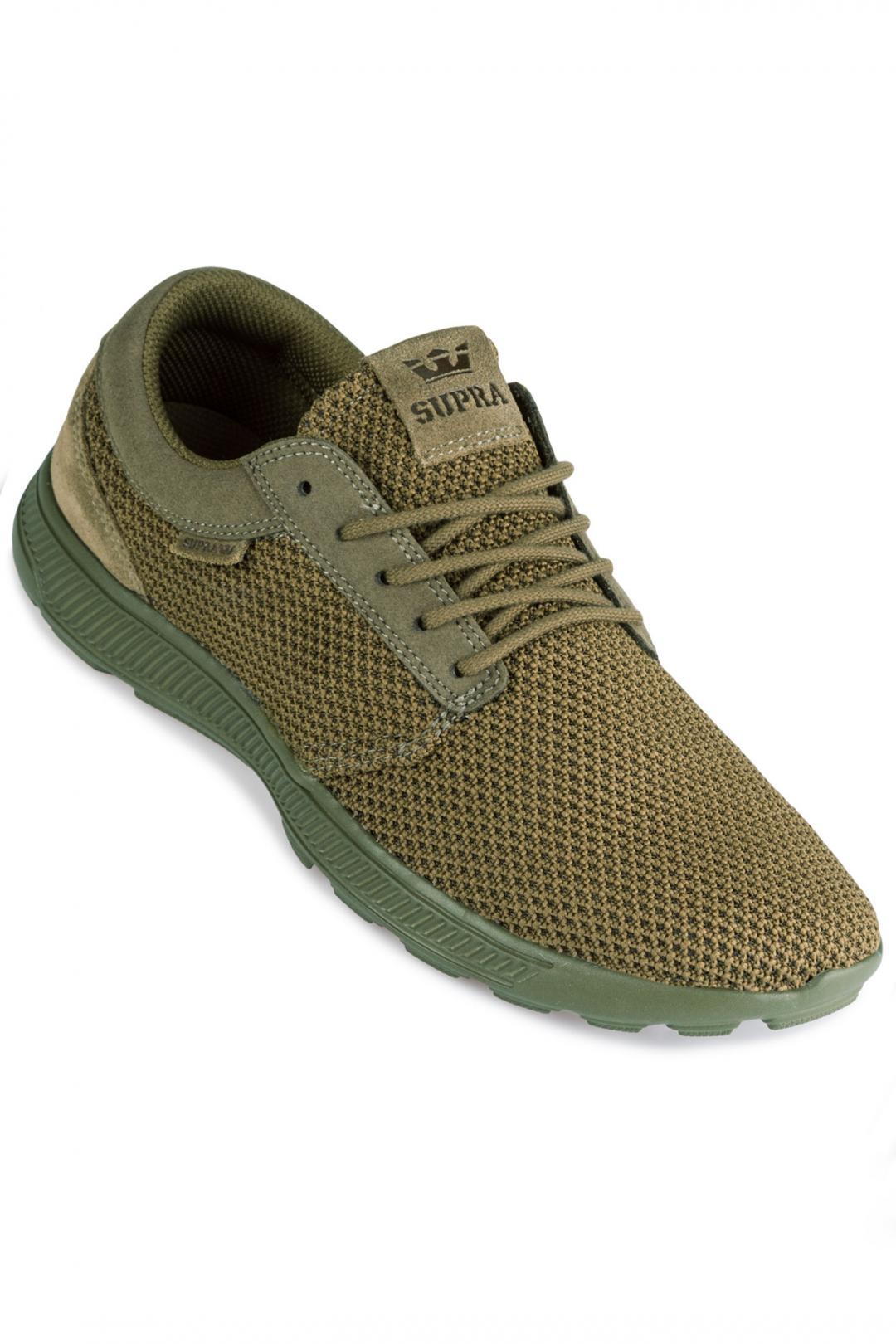 Uomo Supra Hammer Run olive | Sneaker