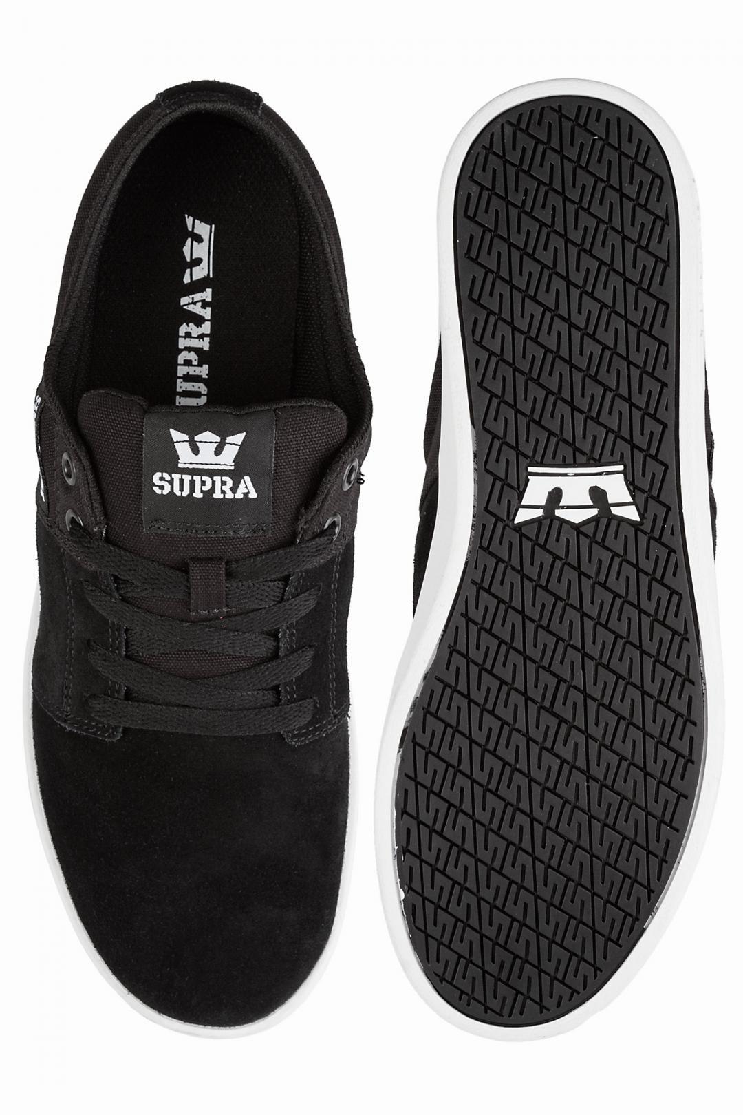 Uomo Supra Stacks II black grey white | Sneaker
