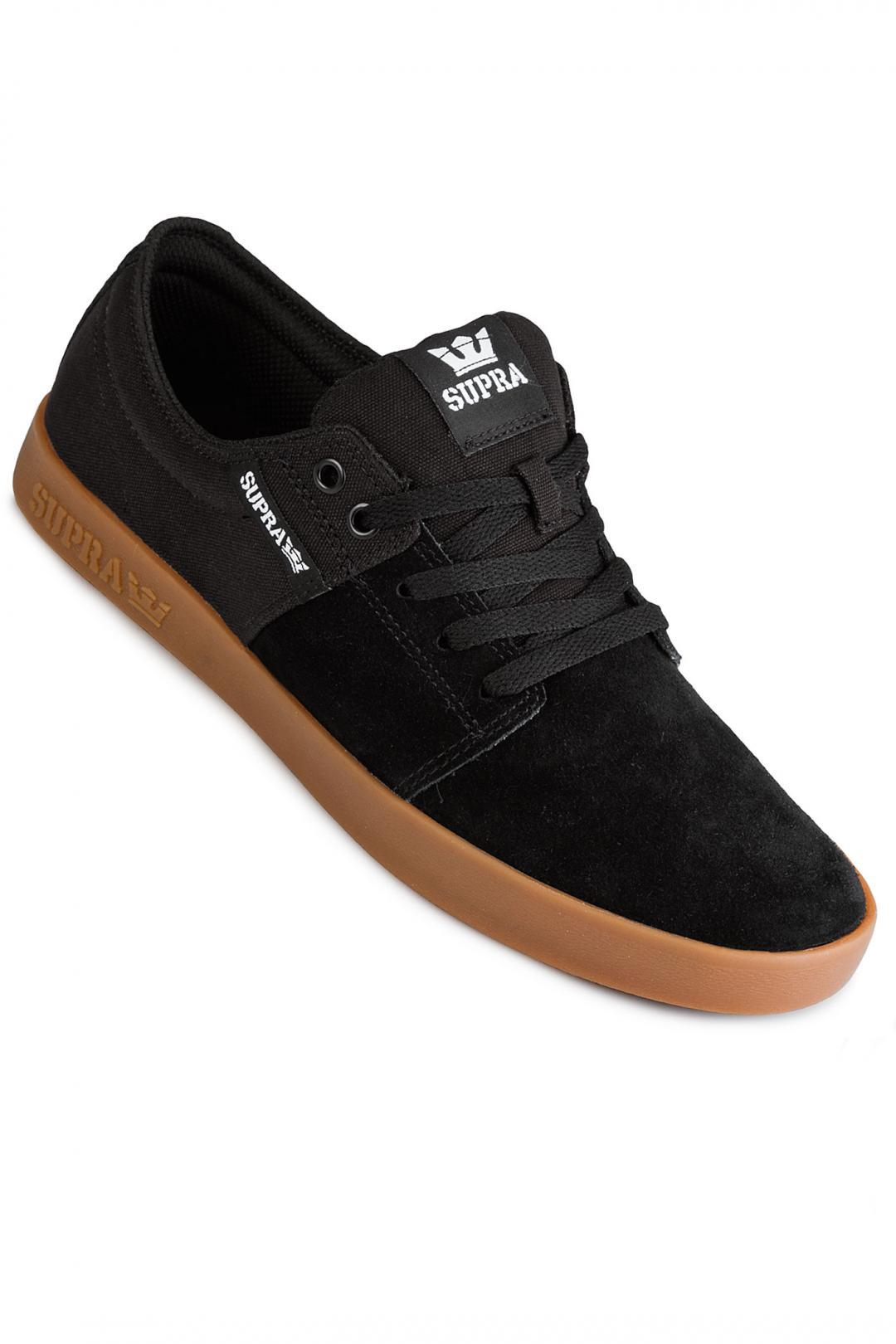 Uomo Supra Stacks II black gum 2 | Sneaker