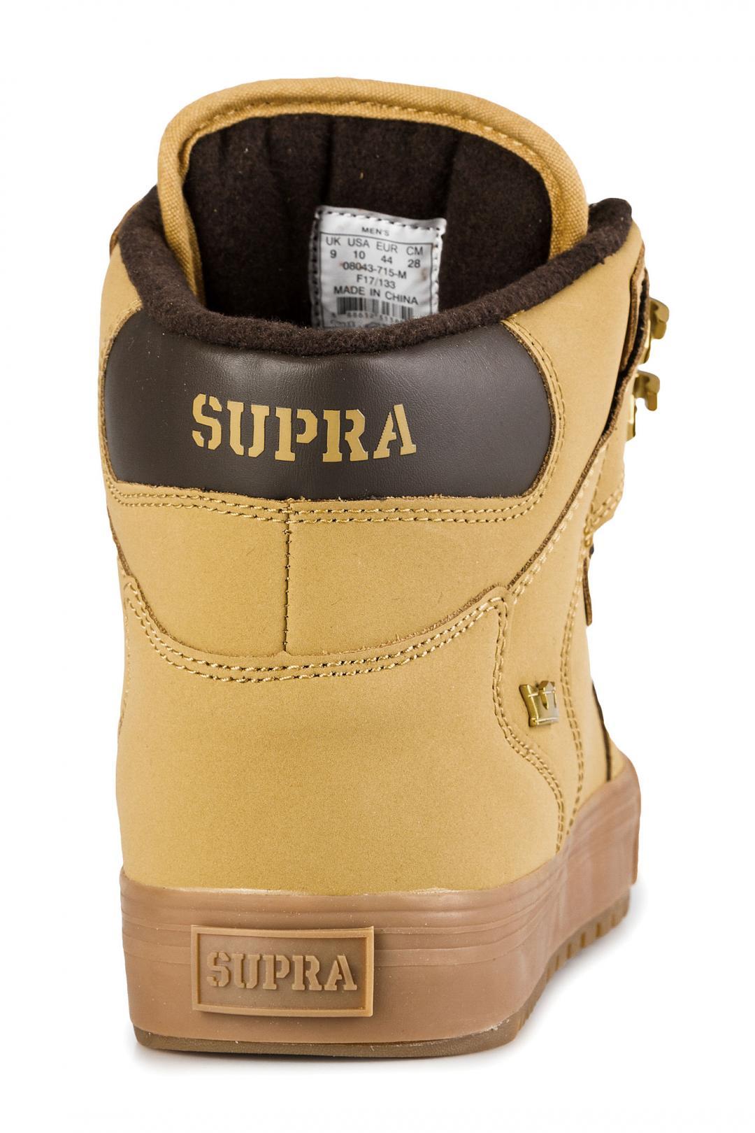 Uomo Supra Vaider CW amber gold light gum | Sneakers high top