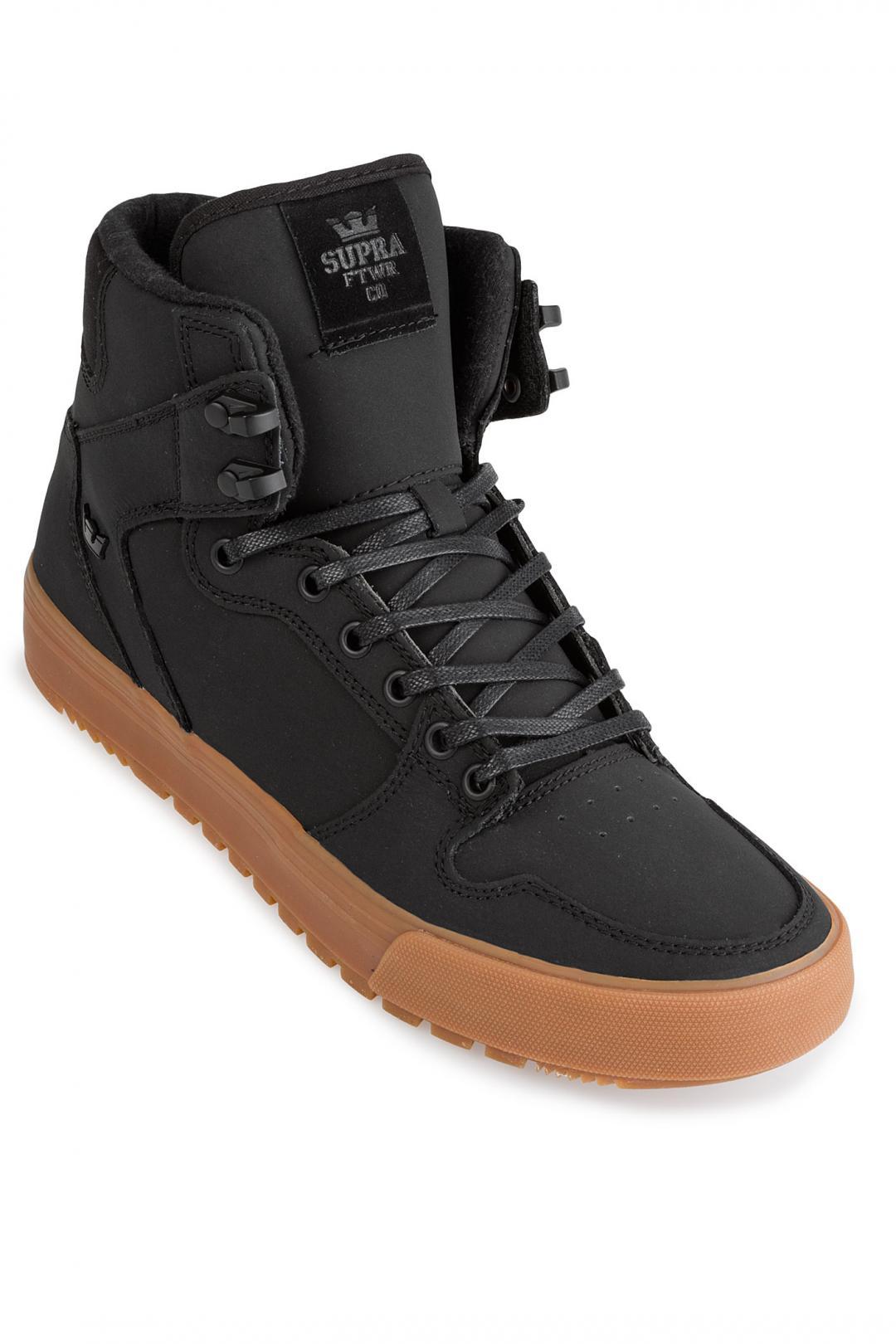 Uomo Supra Vaider CW black black gum   Sneakers high top