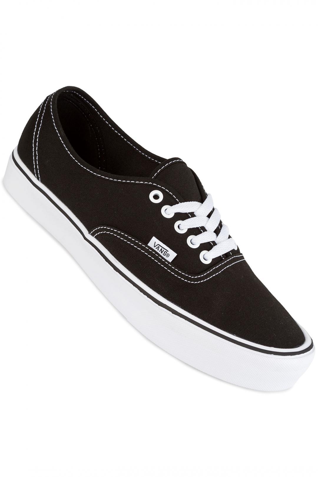 Uomo Vans Authentic Lite Canvas black white | Sneaker