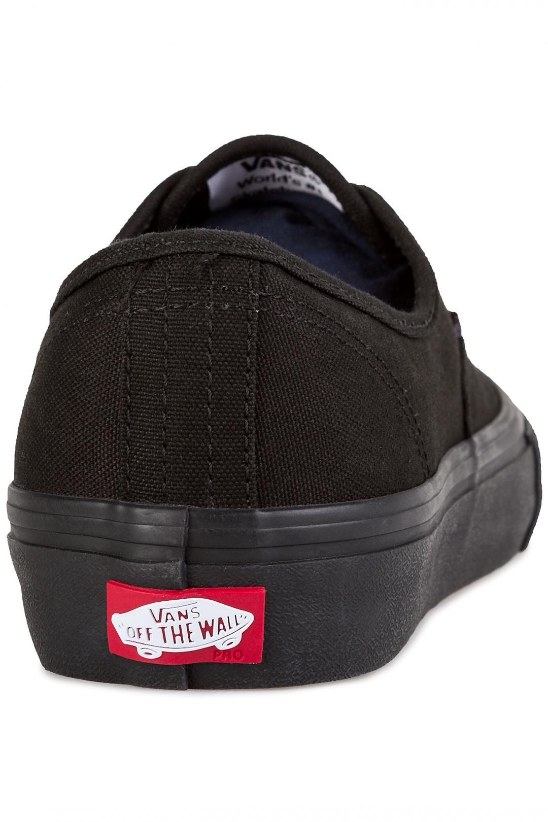 Uomo Vans Authentic Pro black black | Sneaker