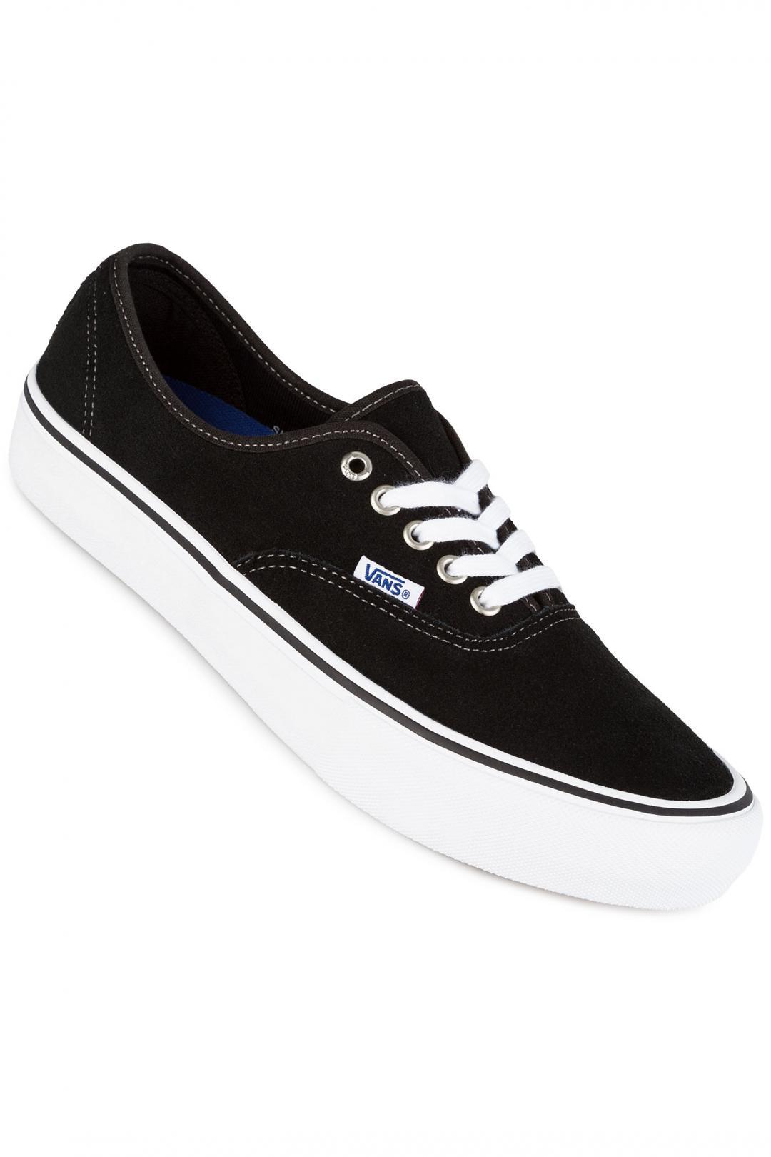 Uomo Vans Authentic Pro Suede black | Sneaker