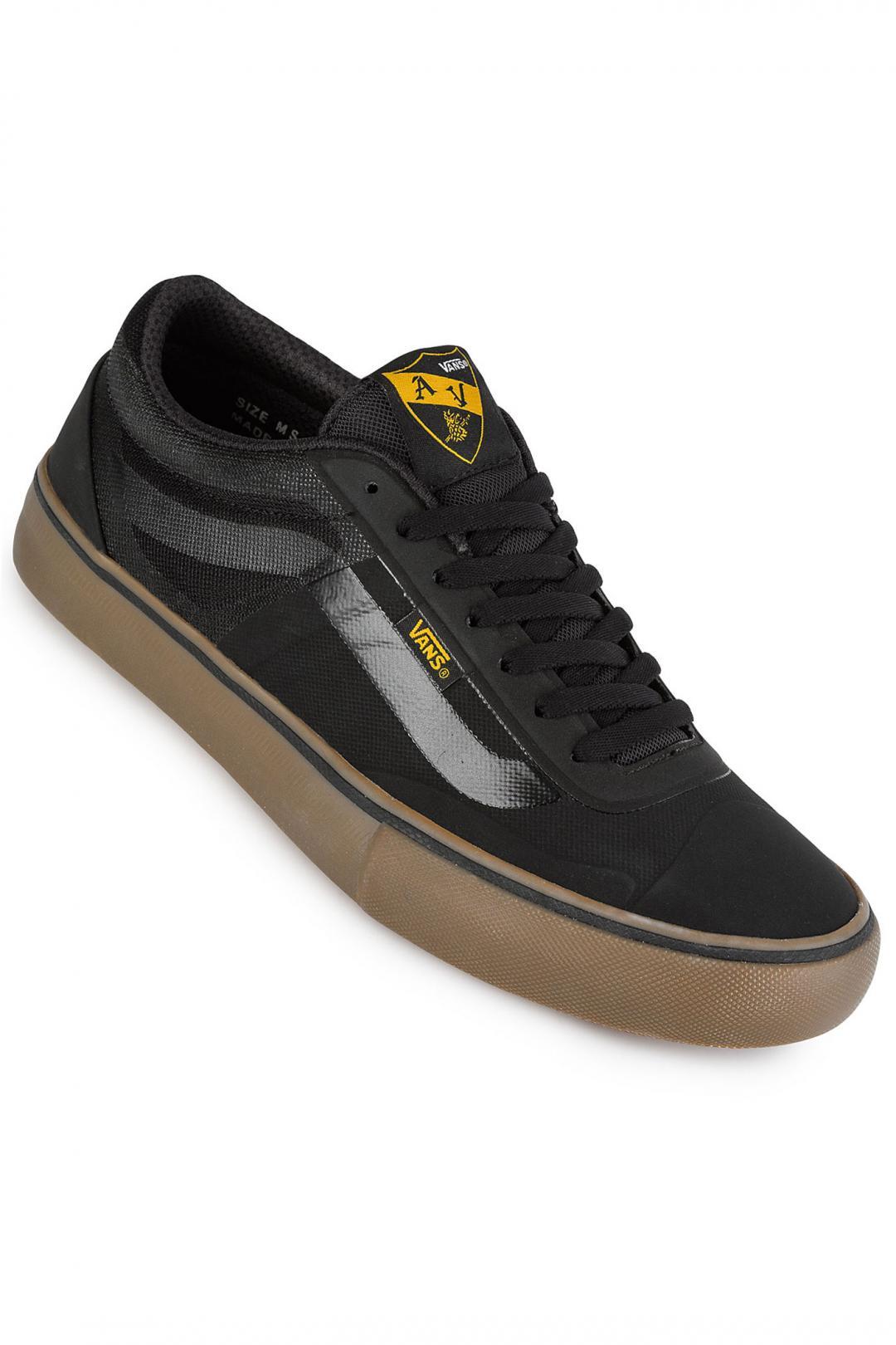 Uomo Vans AV Rapidweld Pro black gum tawny olive   Sneaker
