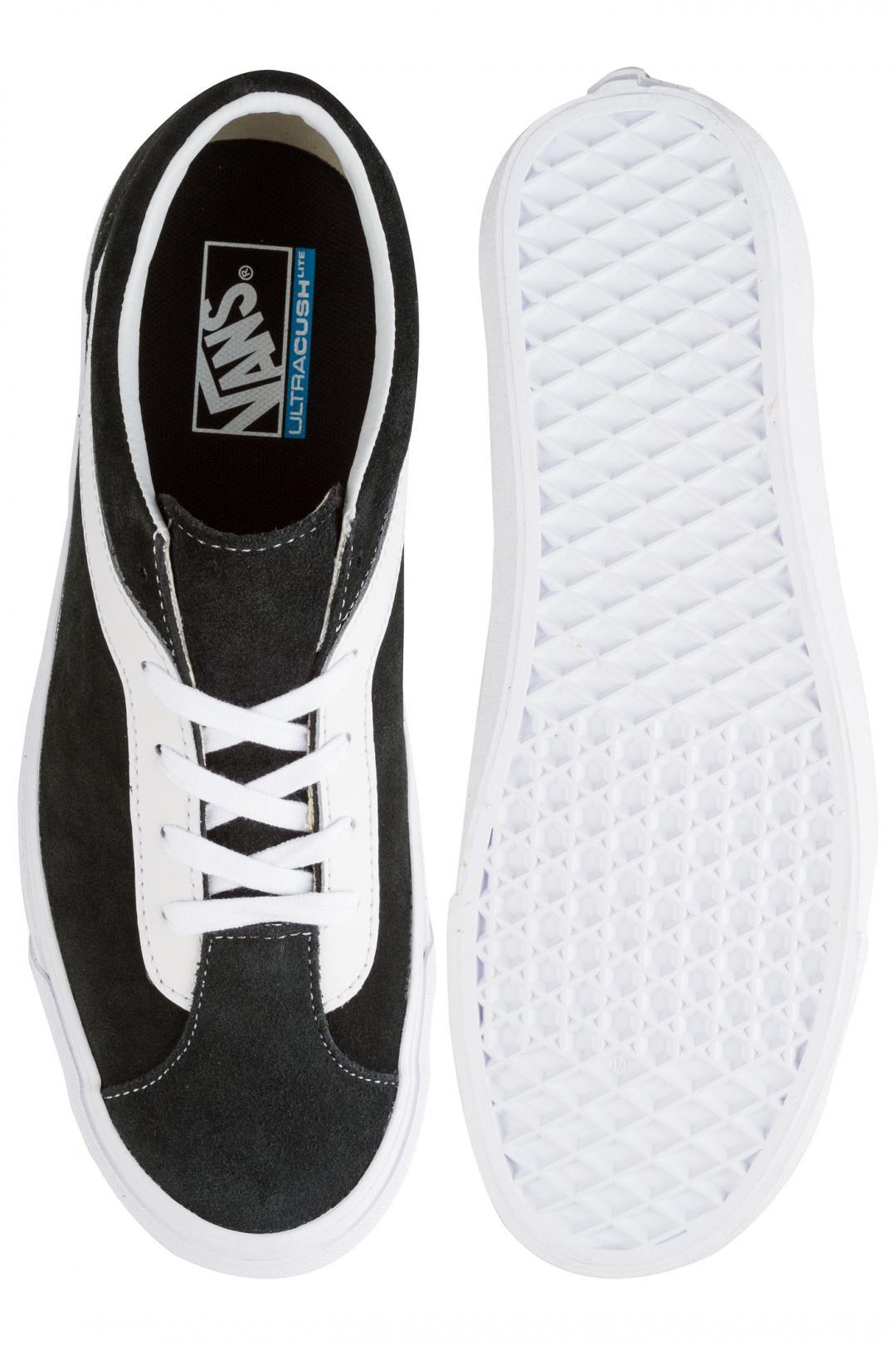 Uomo Vans Bold Ni black true white   Scarpe da skate