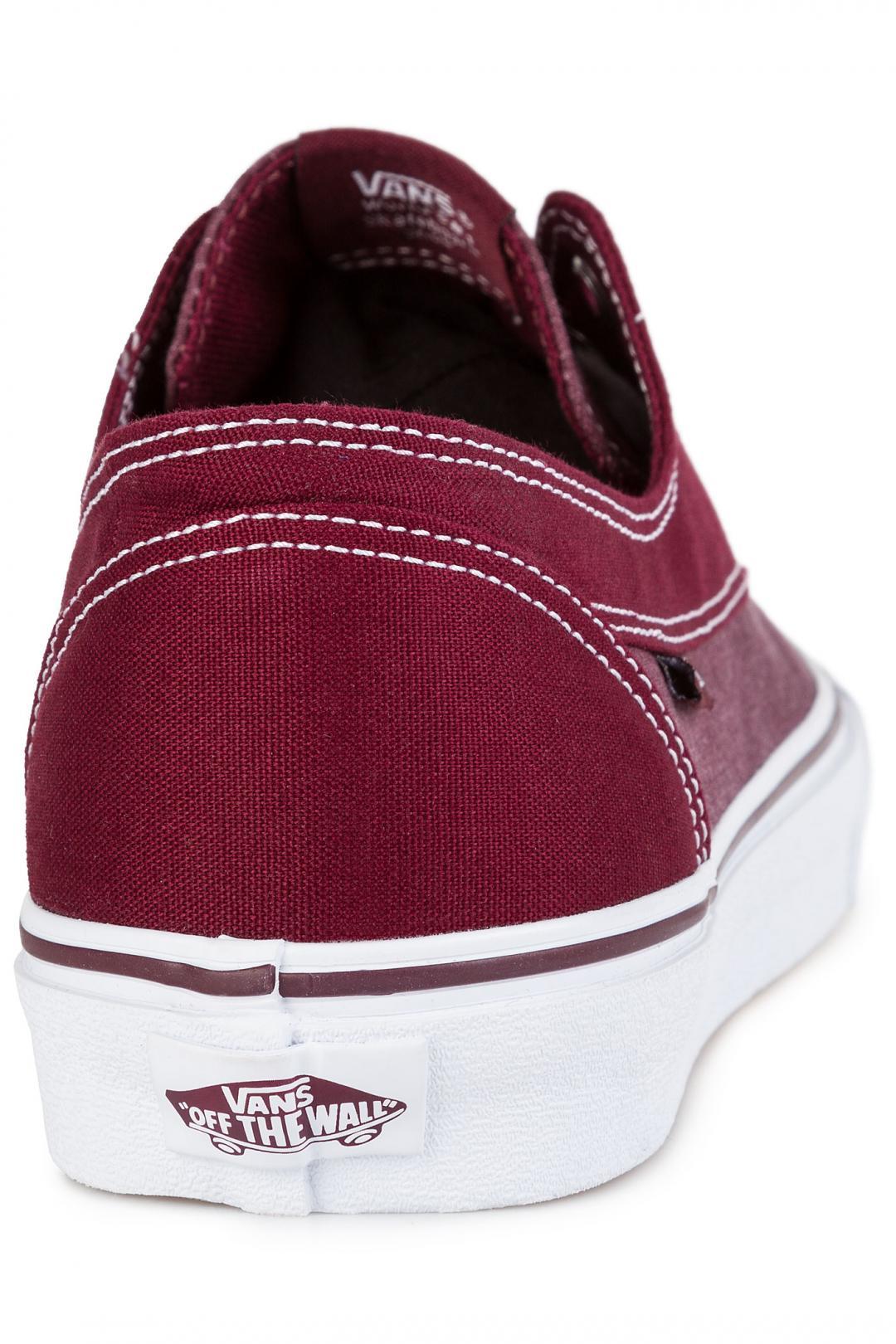 Uomo Vans Brigata Canvas port royale white | Sneakers low top