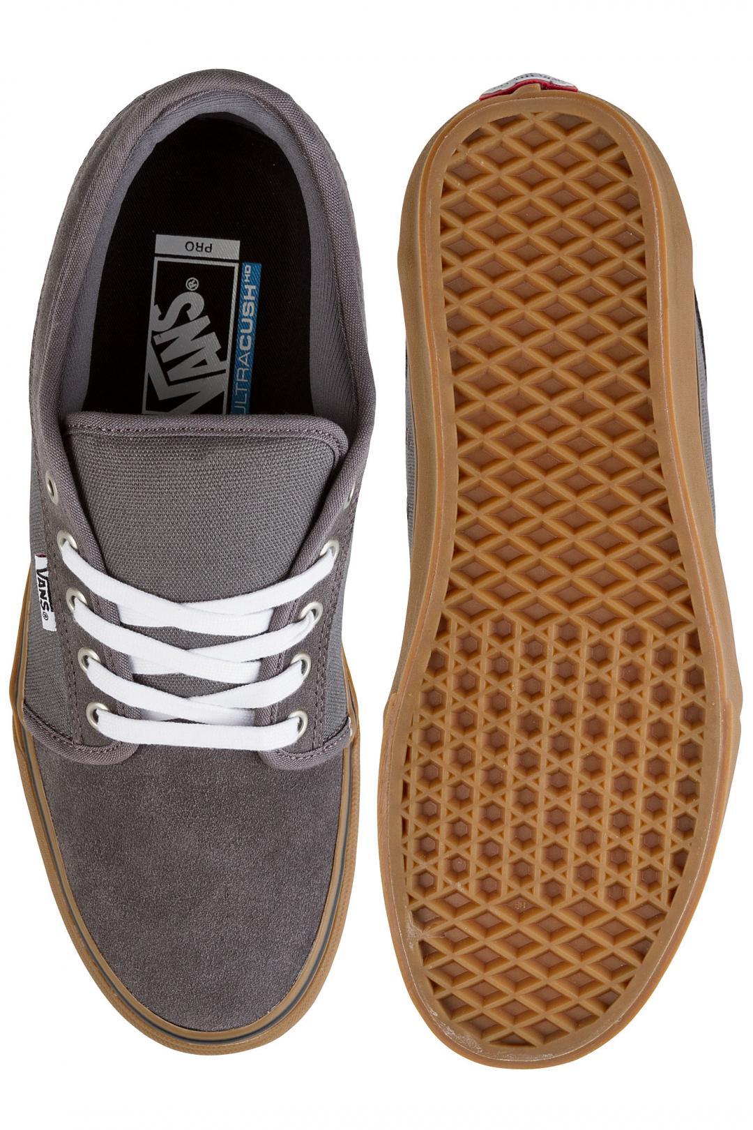 Uomo Vans Chukka Low pewter white | Sneakers low top