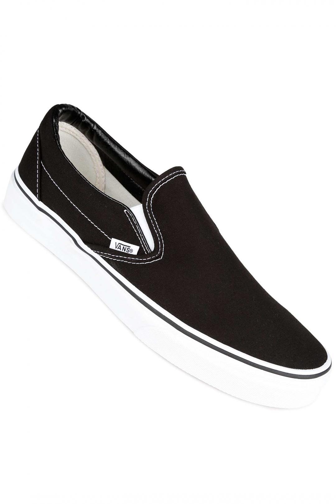 Uomo Vans Classic Slip-On black | Sneakers slip on
