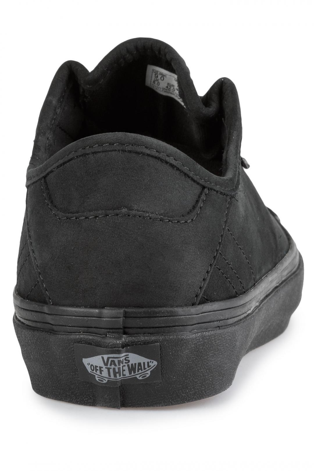 Uomo Vans Diamo Ni black black | Sneaker