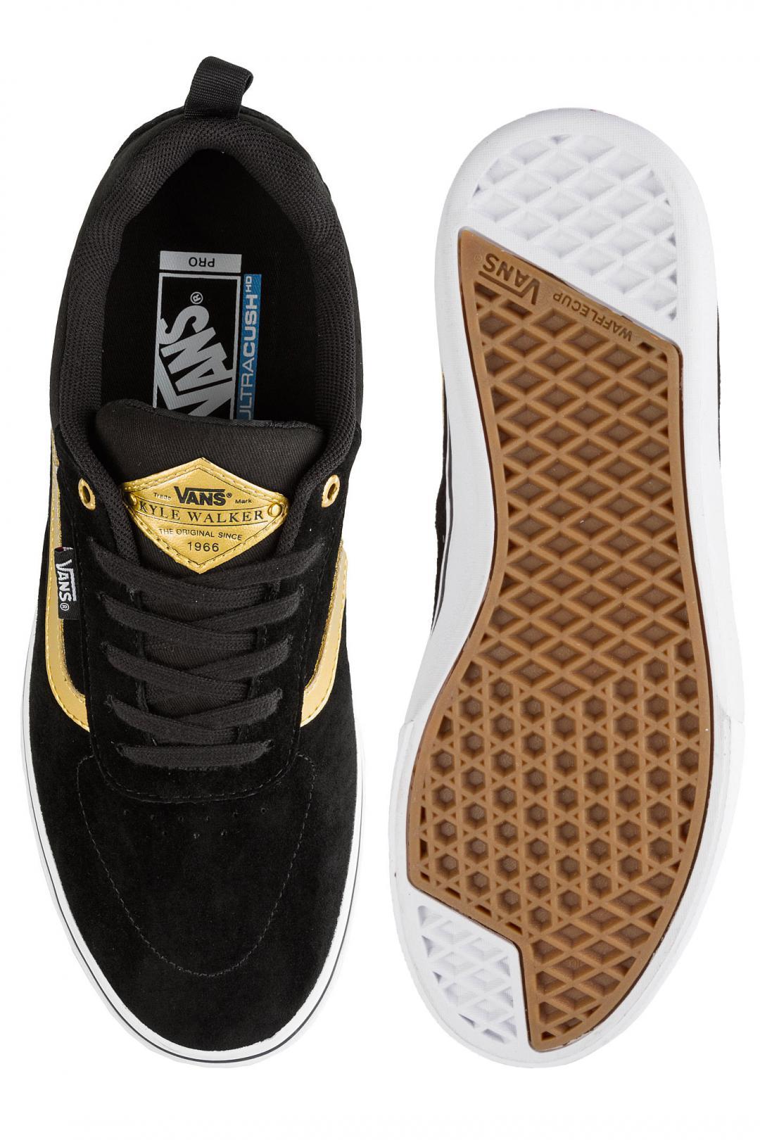 Uomo Vans Kyle Walker Pro black metall | Sneakers low top