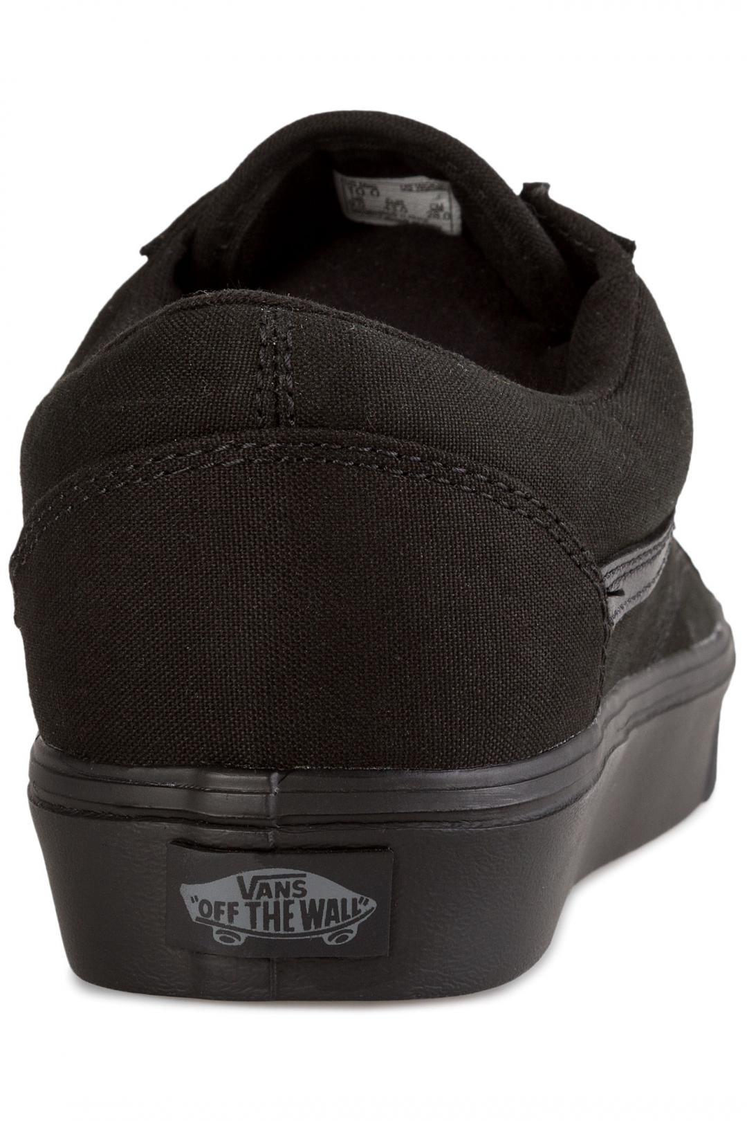 Uomo Vans Old Skool Lite Canvas black black | Sneaker