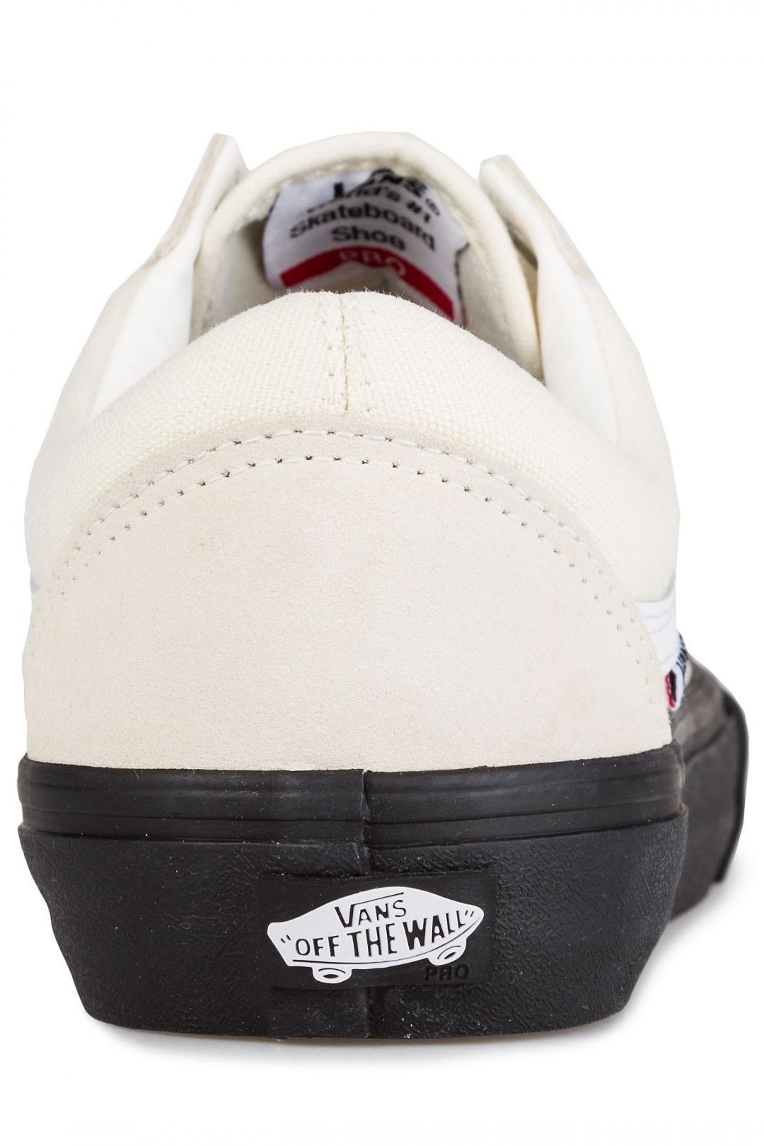 Uomo Vans Old Skool Pro classic white black | Scarpe da skate