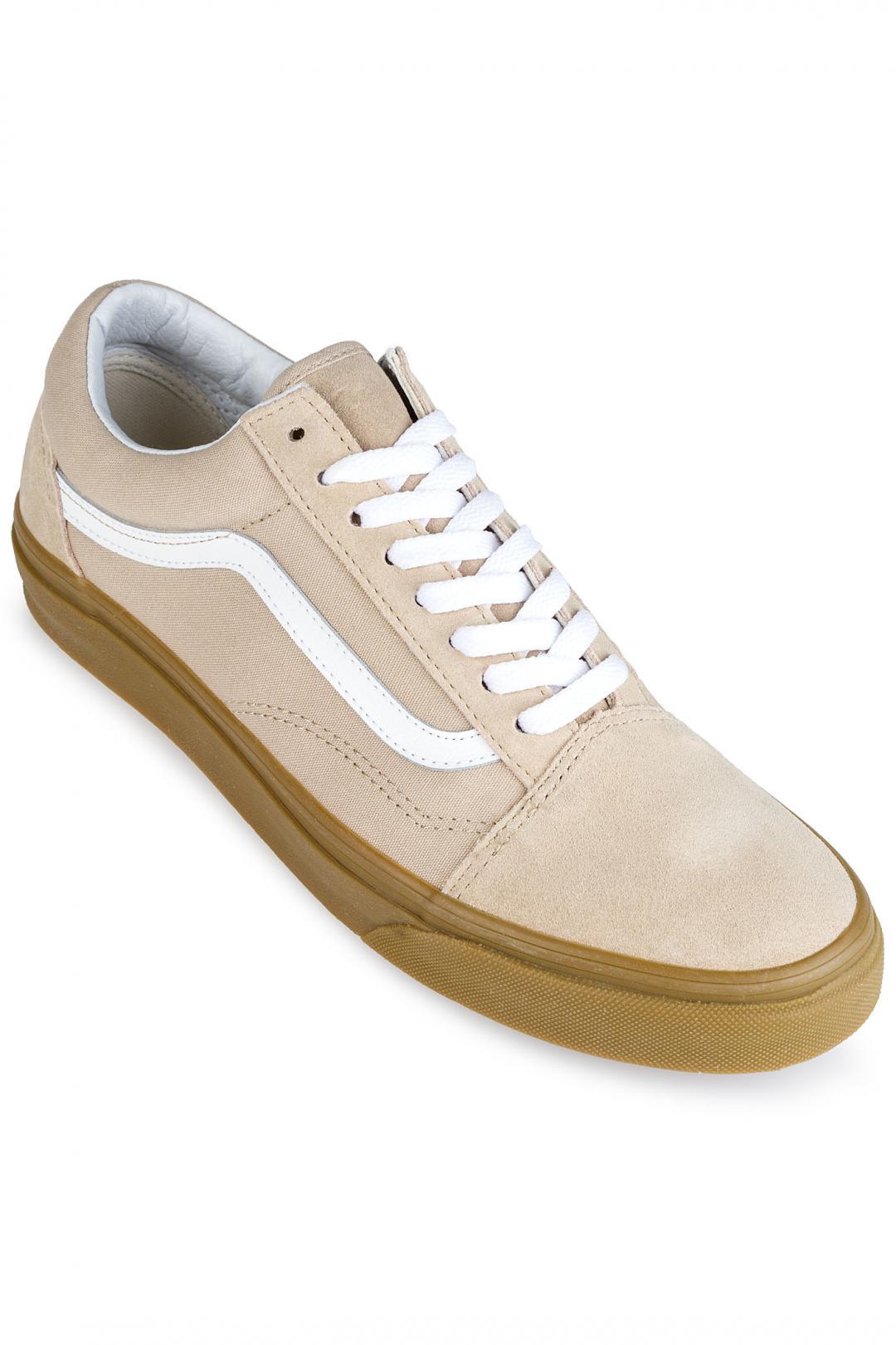Uomo Vans Old Skool sesame gum   Sneaker