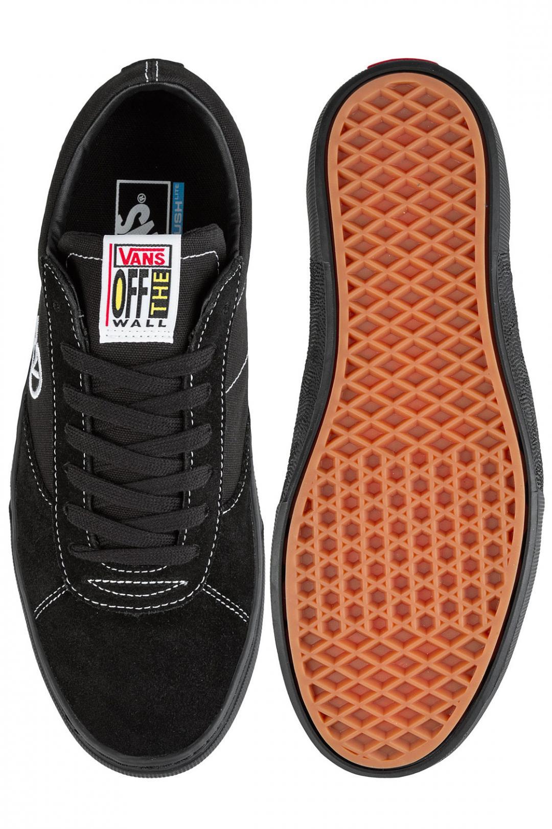 Uomo Vans Paradoxxx black black   Scarpe da skate