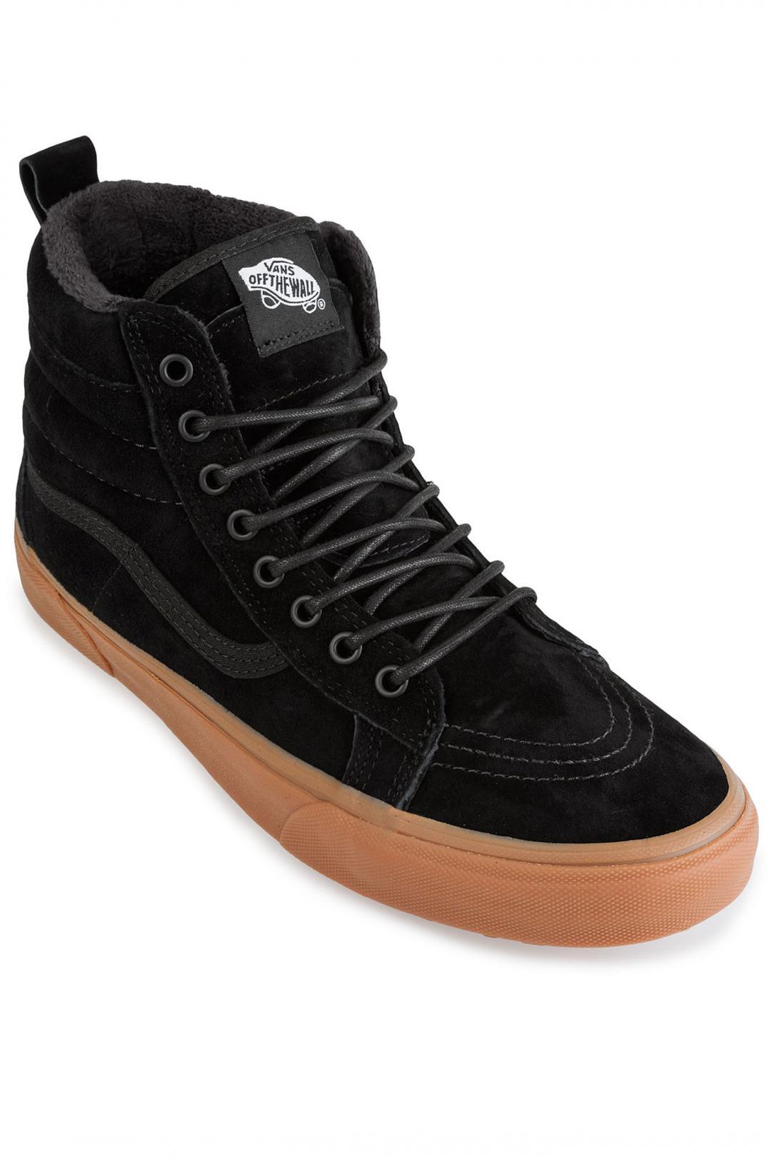 Uomo Vans Sk8-Hi MTE black gum | Sneaker