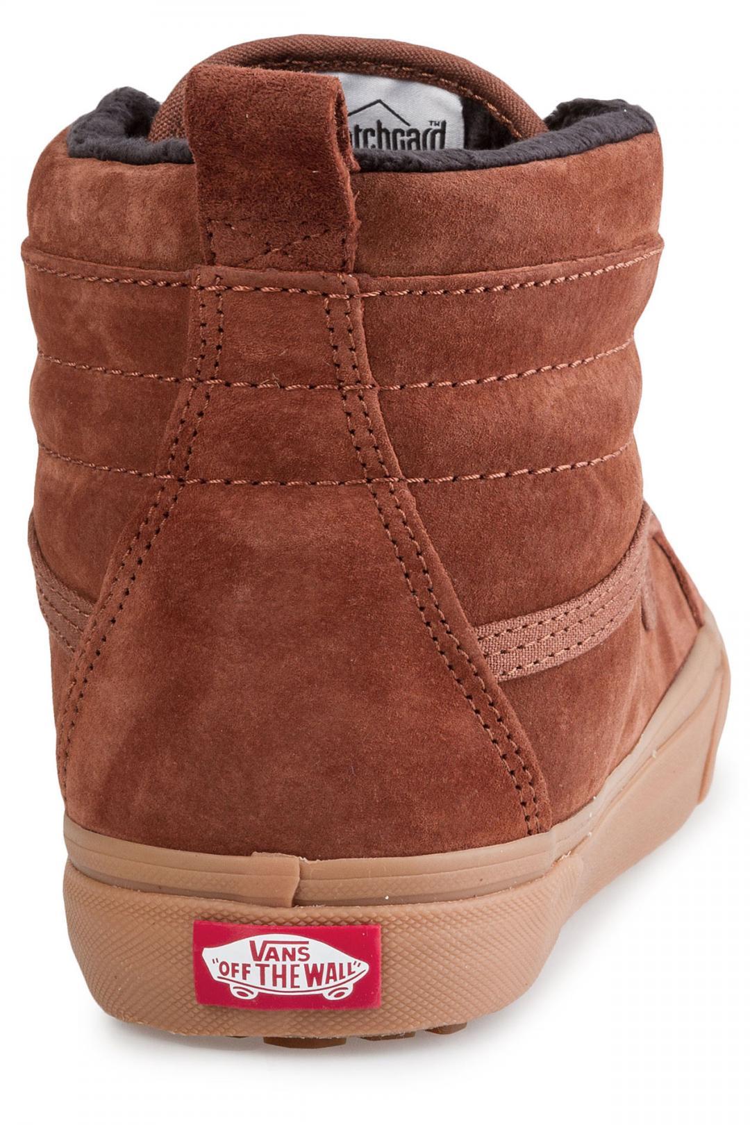 Uomo Vans Sk8-Hi MTE sequoia gum | Sneakers high top