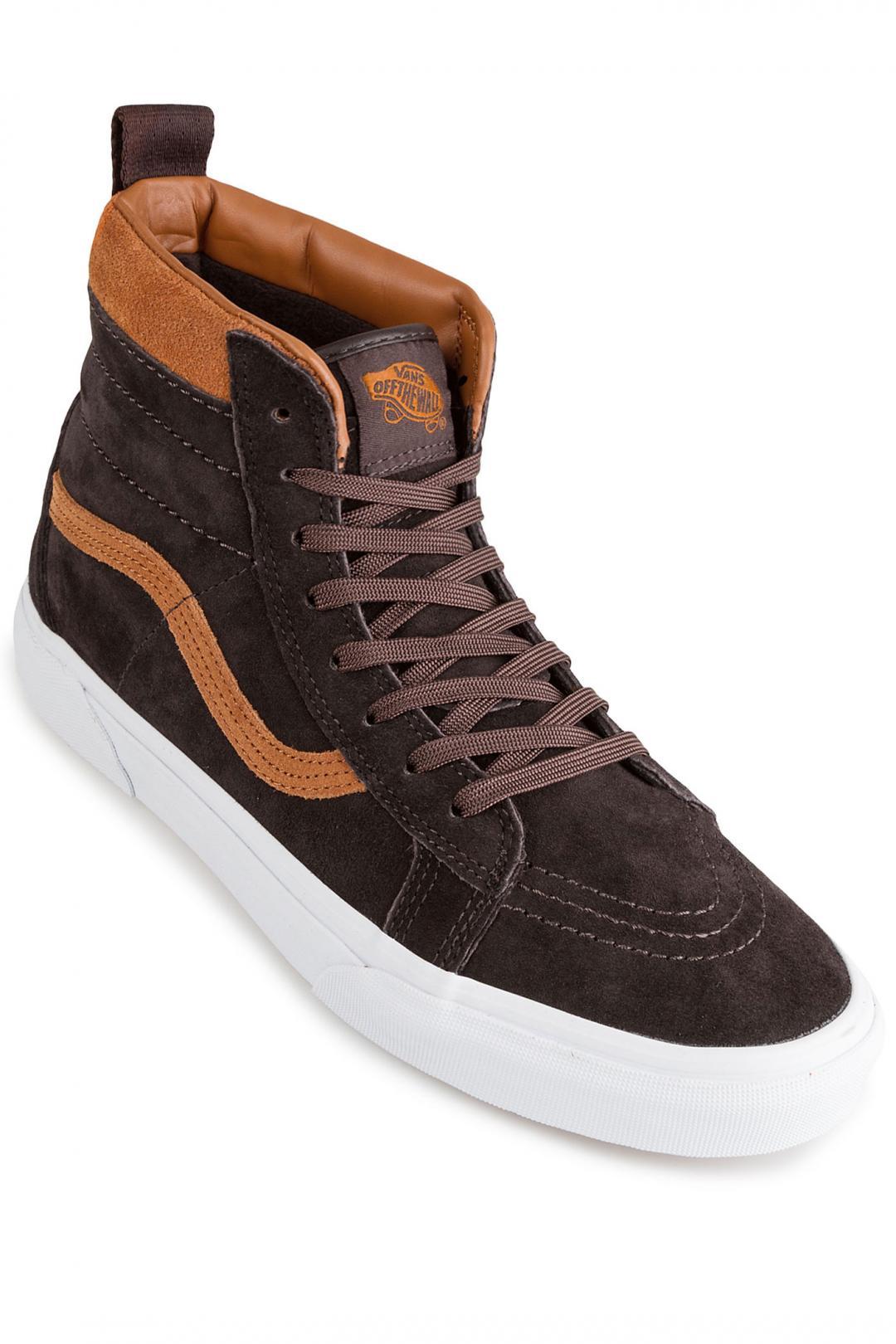 Uomo Vans Sk8-Hi MTE Suede chocolate torte | Sneaker
