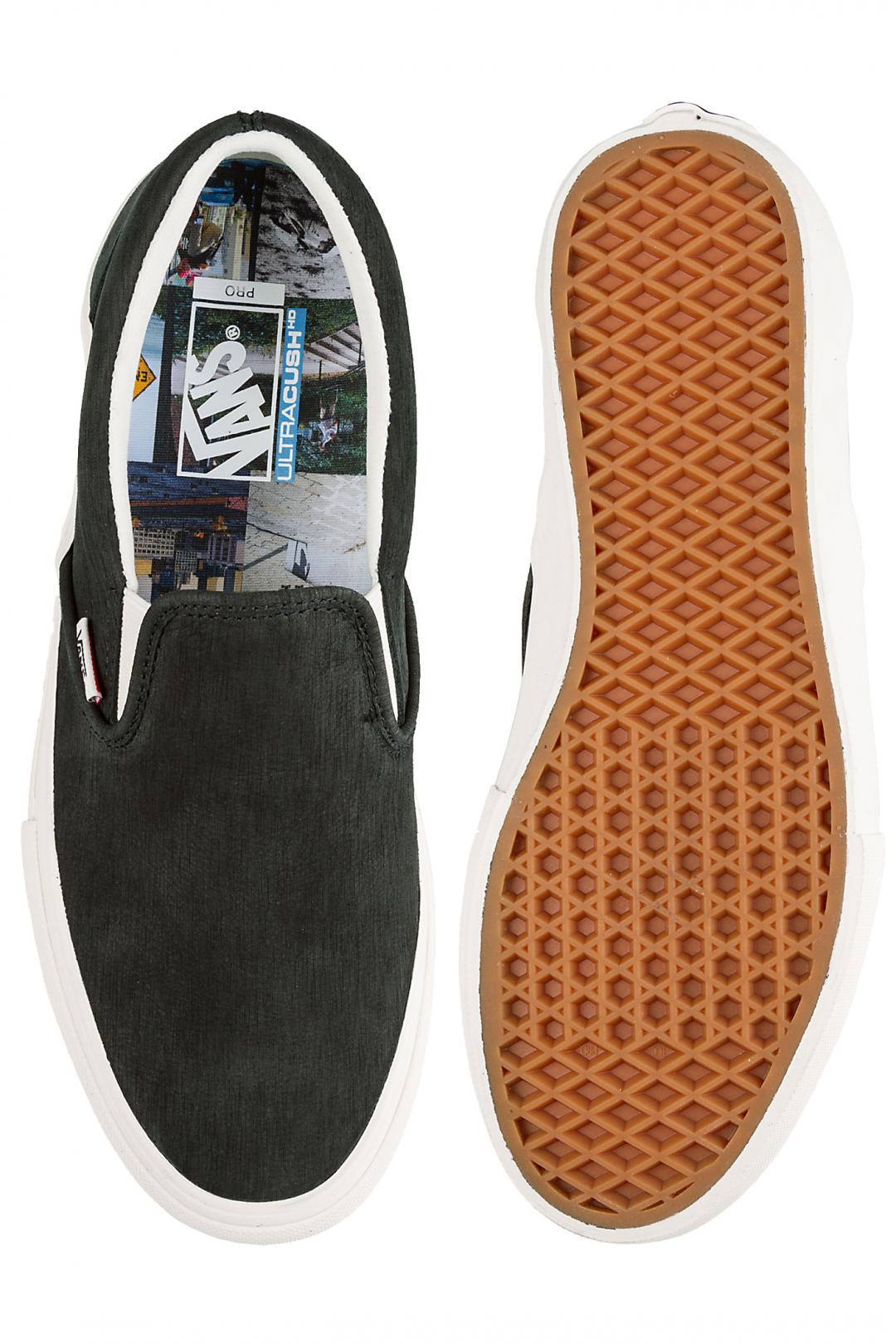 Uomo Vans Slip-On Pfanner black marshmallow | Sneakers slip on