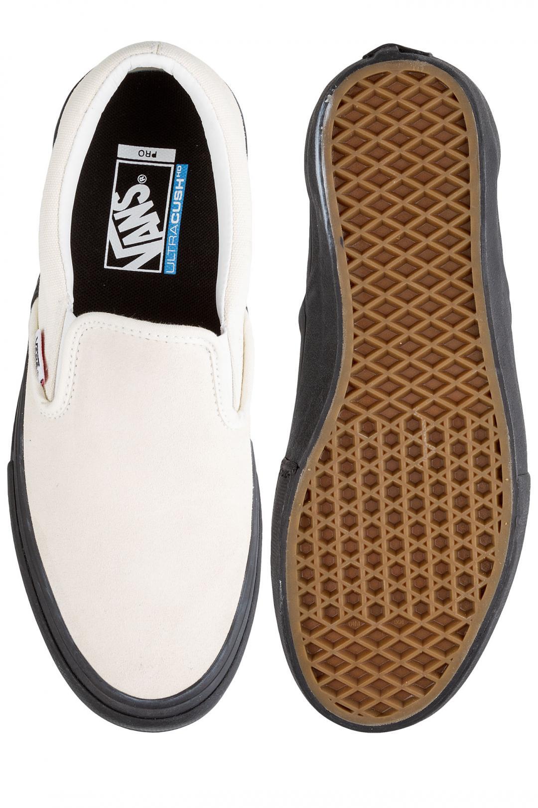 Uomo Vans Slip-On Pro classic white black | Scarpe da skate