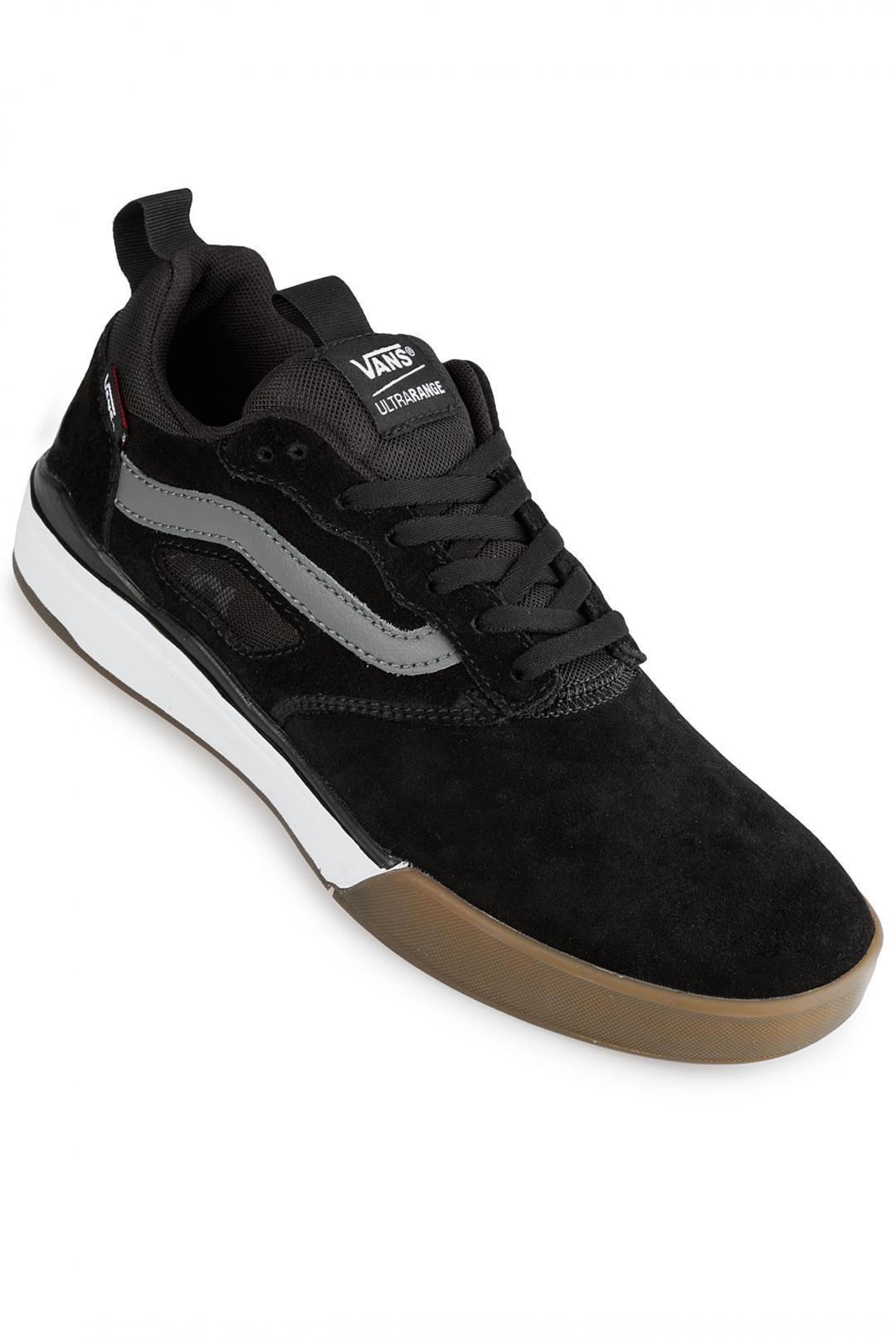 Uomo Vans Ultrarange Pro black gum white   Sneakers low top