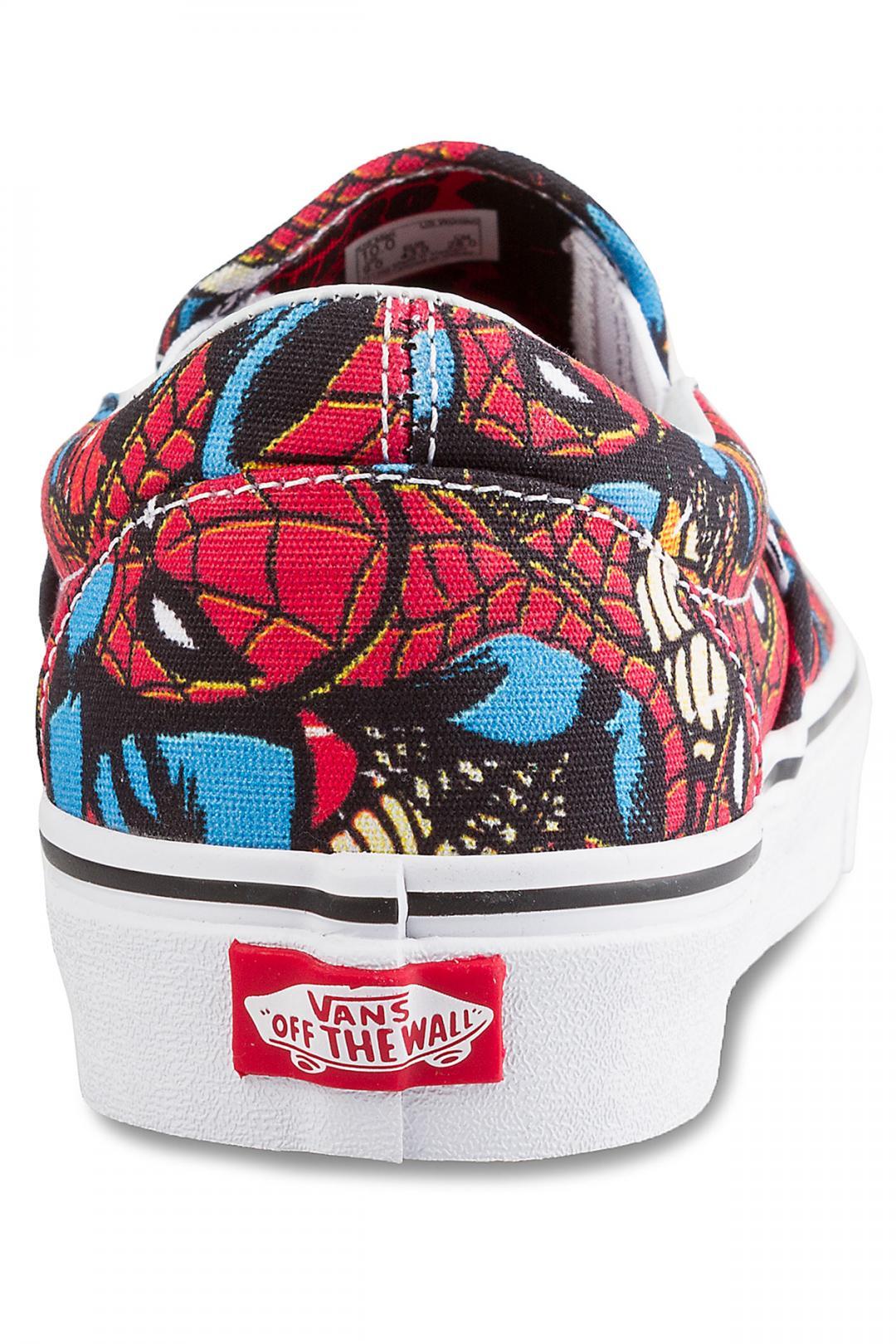 Uomo Vans x Marvel Classic Slip-On spiderman black | Scarpe da skate