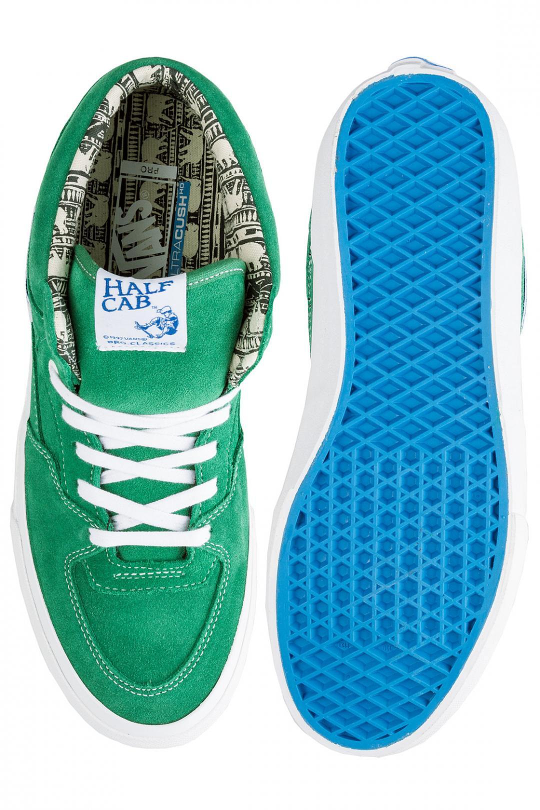Uomo Vans x Ray Barbee Half Cab Pro og emerald   Scarpe da skate