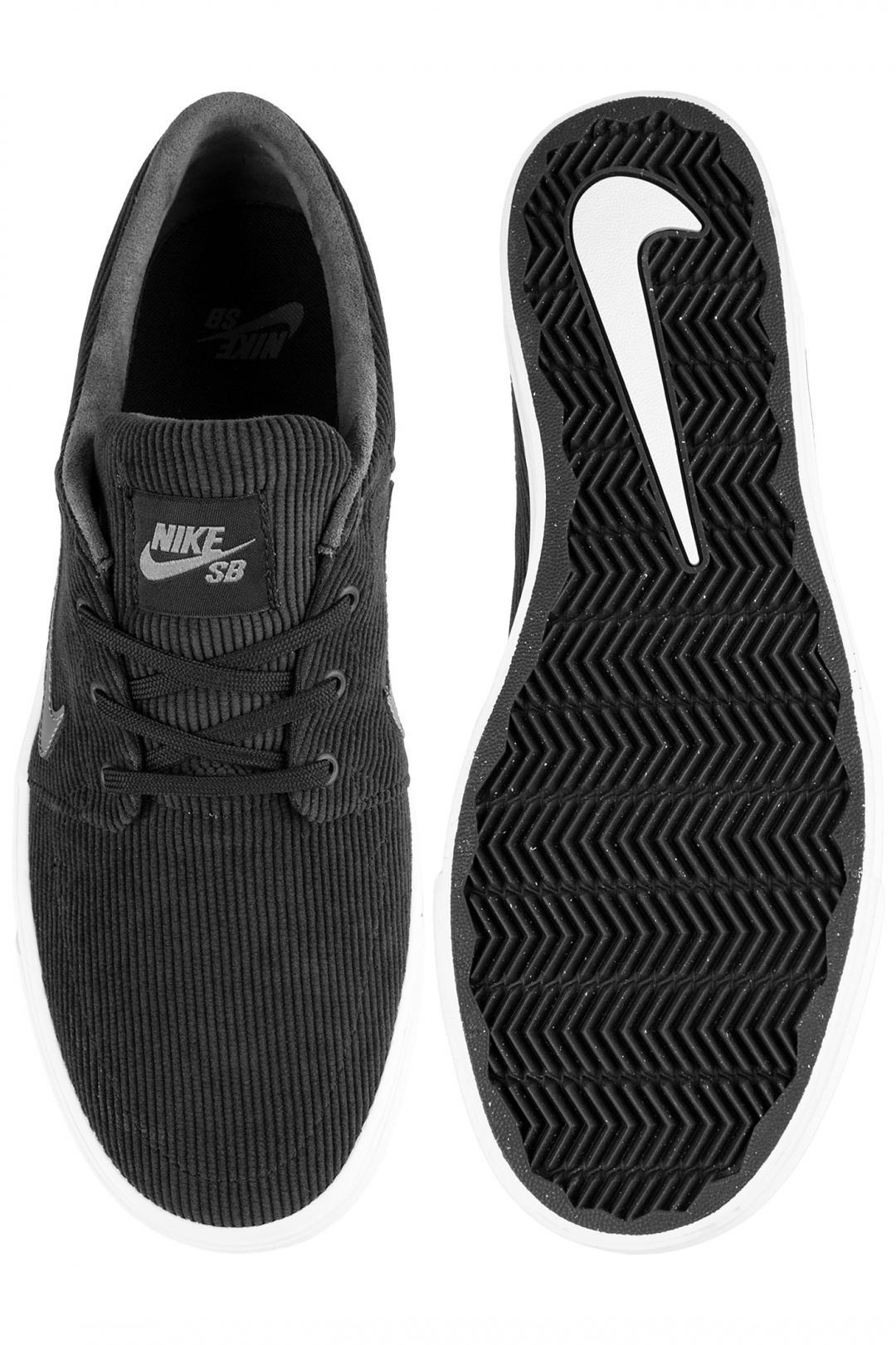 Uomo/Donna Nike SB Portmore Canvas black dark grey | Sneaker