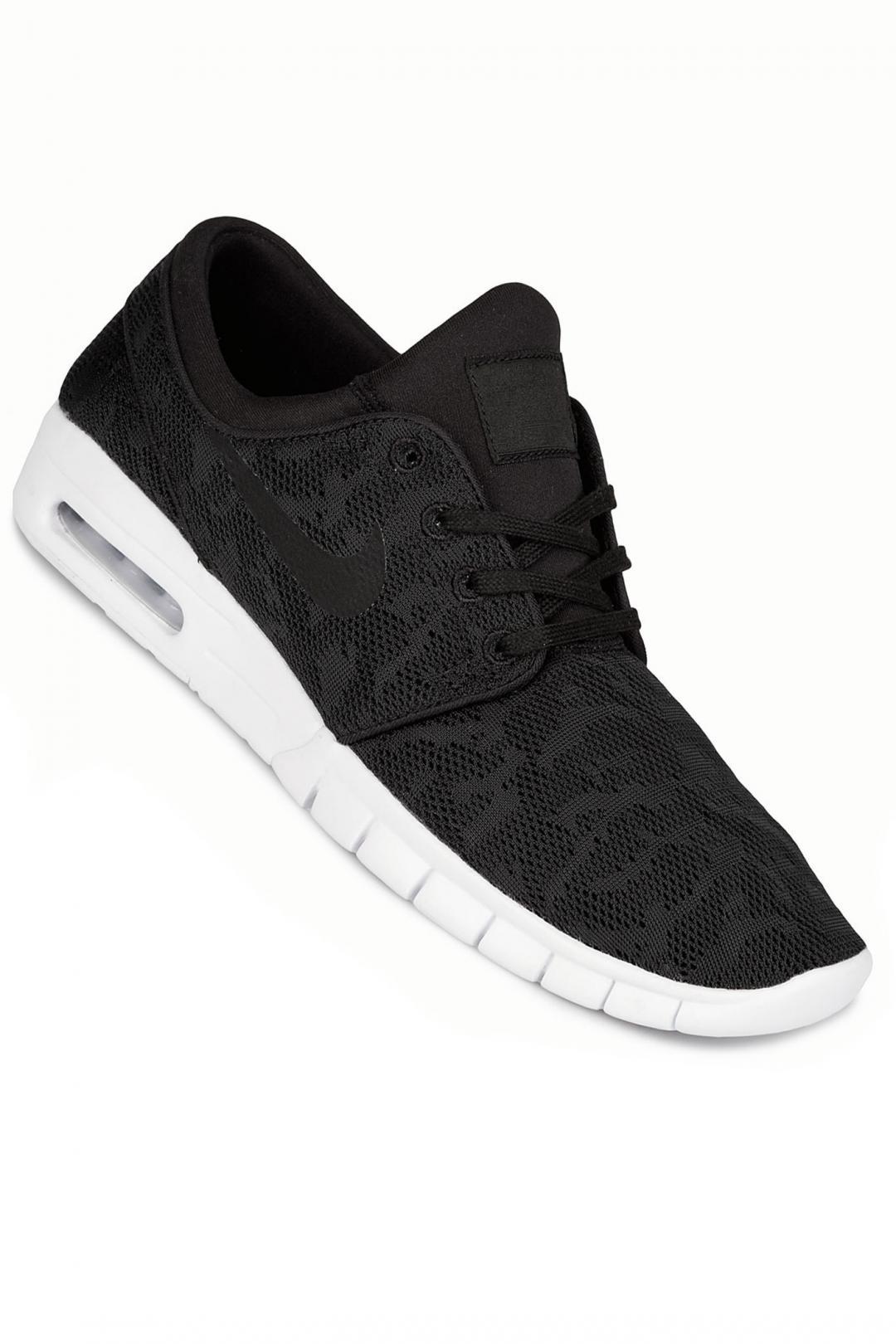 Uomo/Donna Nike SB Stefan Janoski Max black black white | Sneakers low top