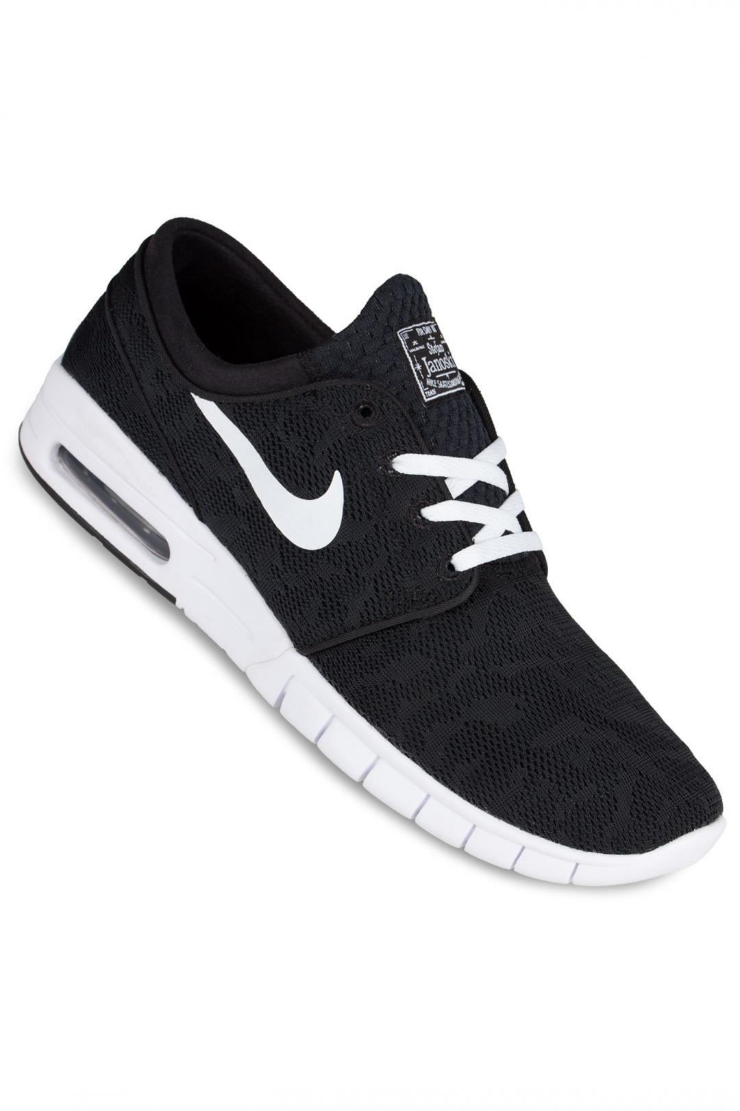 Uomo/Donna Nike SB Stefan Janoski Max black white | Sneaker