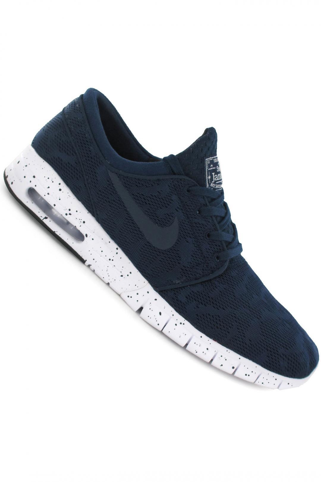 Uomo/Donna Nike SB Stefan Janoski Max midnight navy white | Sneakers low top