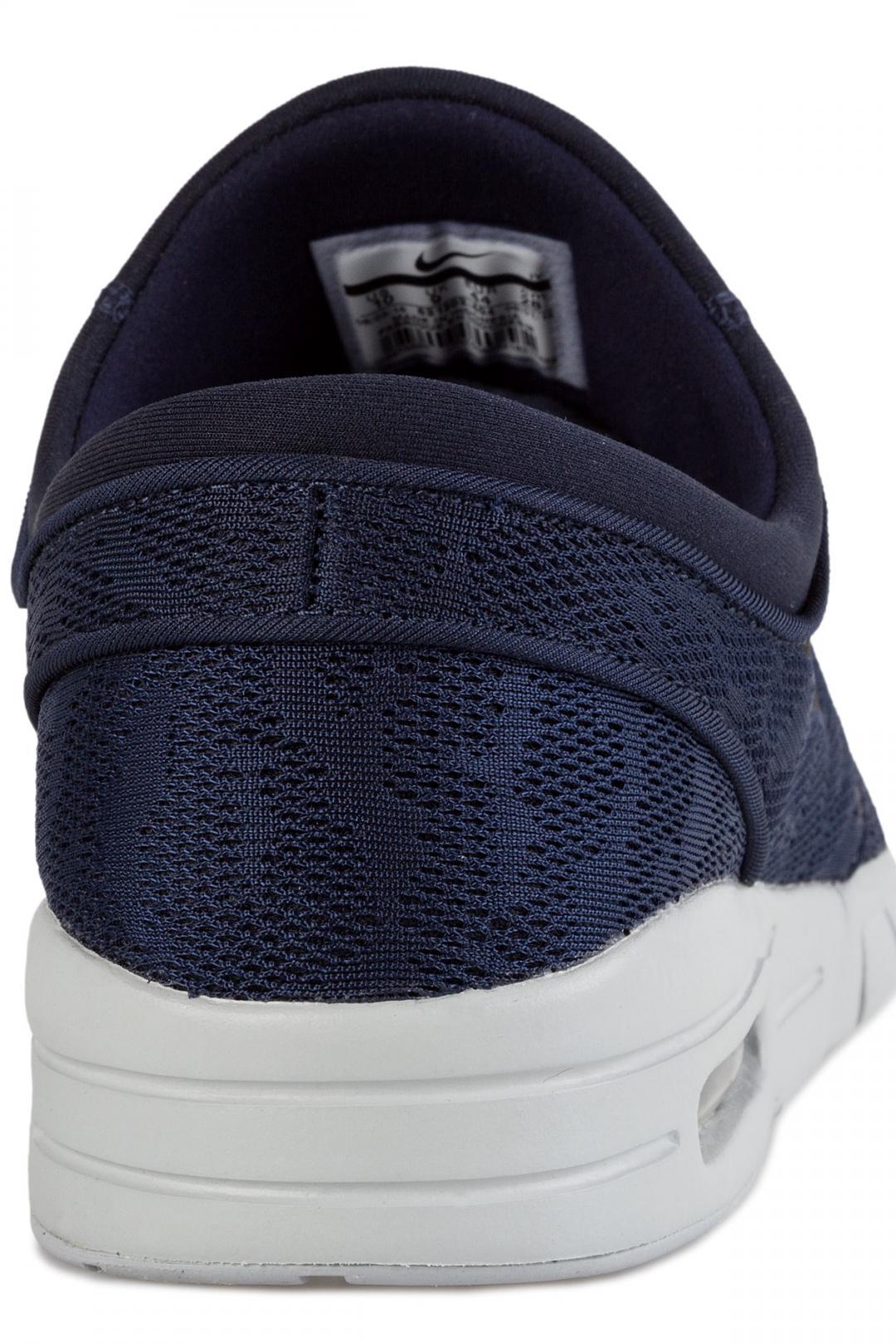Uomo/Donna Nike SB Stefan Janoski Max obsidian black pure platinum | Sneaker