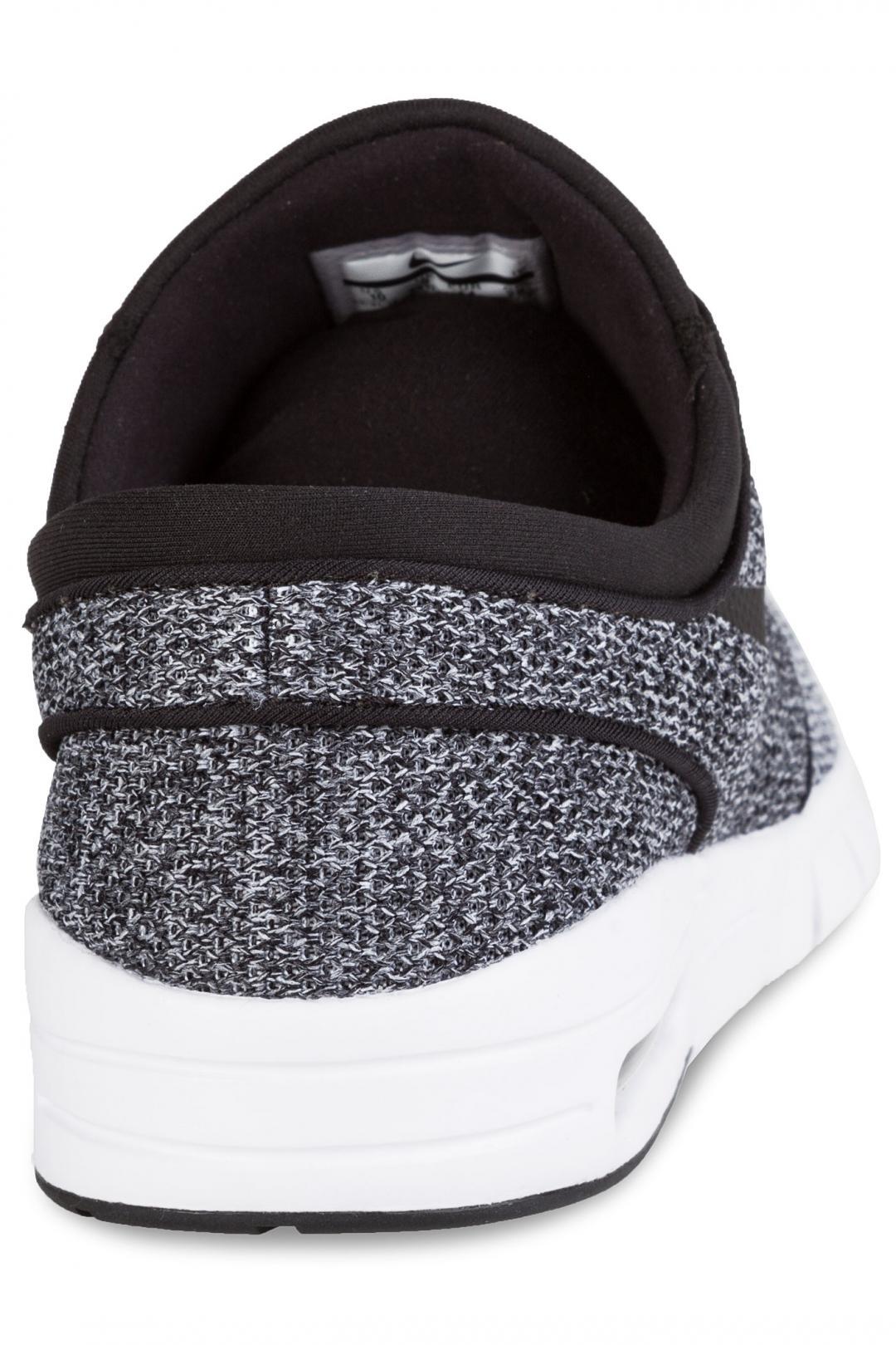 Uomo/Donna Nike SB Stefan Janoski Max white black dark grey   Sneaker