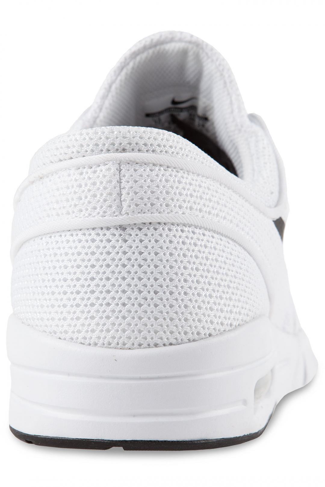 Uomo/Donna Nike SB Stefan Janoski Max white black | Sneakers low top