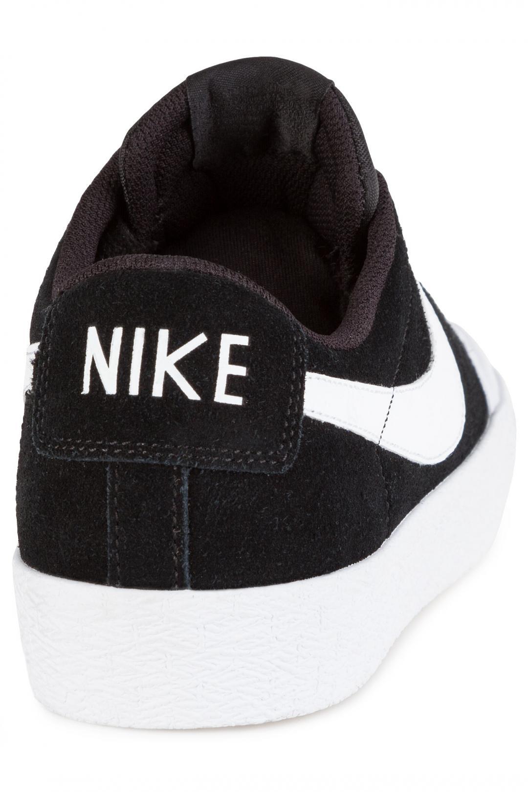 Uomo/Donna Nike SB Zoom Blazer Low XT black white   Scarpe da skate