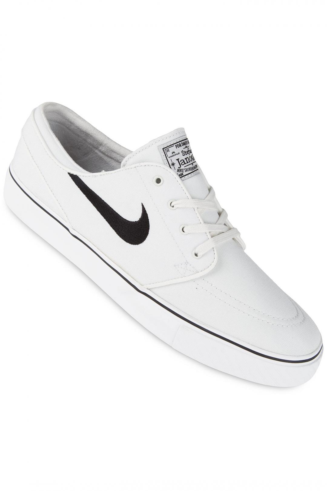 Uomo/Donna Nike SB Zoom Stefan Janoski Canvas summit white black | Sneakers low top